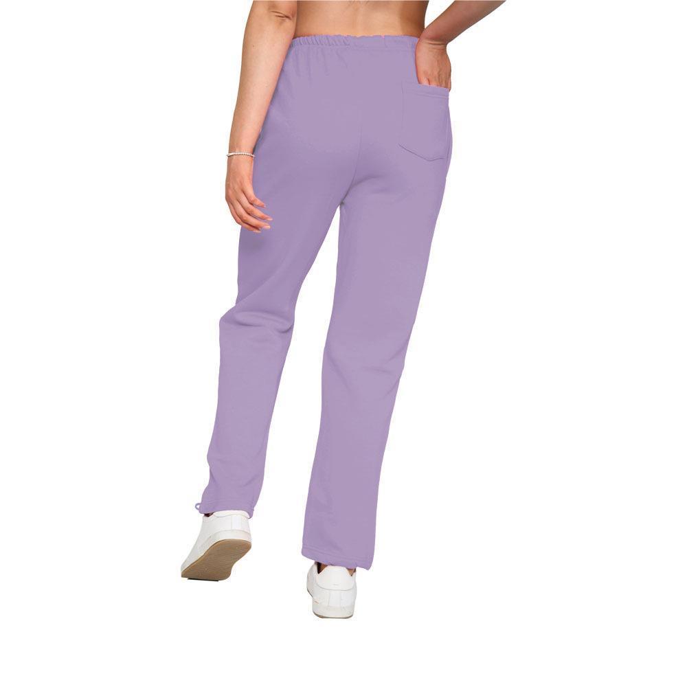Nova Ladies Open Hem Fleece Joggers Women Straight Leg Jogging Bottoms Sweatpant