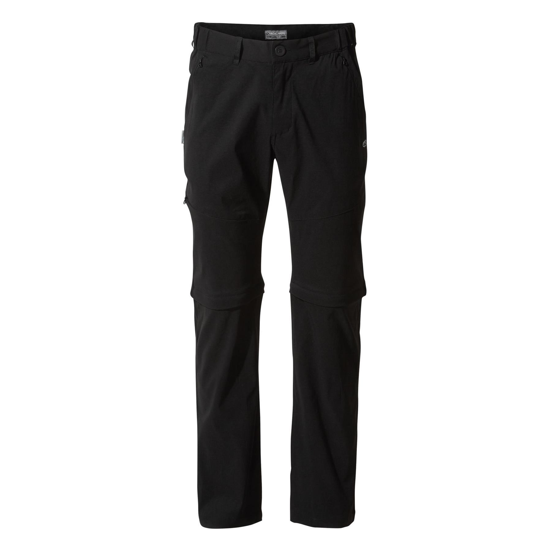 Craghoppers Mens KIWI PRO II CONVERTIBLE Stretch Zip Off Trousers Work Walking