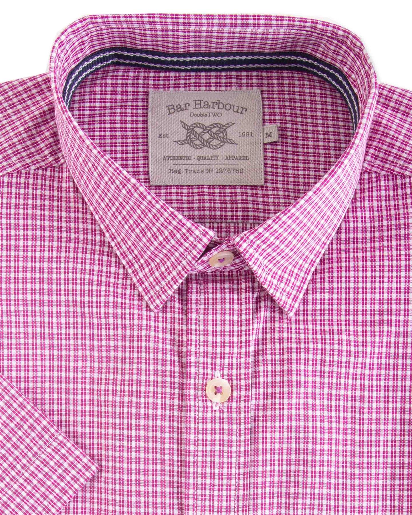 Bar Harbour Pure Cotton SS Smart Casual Shirts ,Size XXL to 5XL SS19