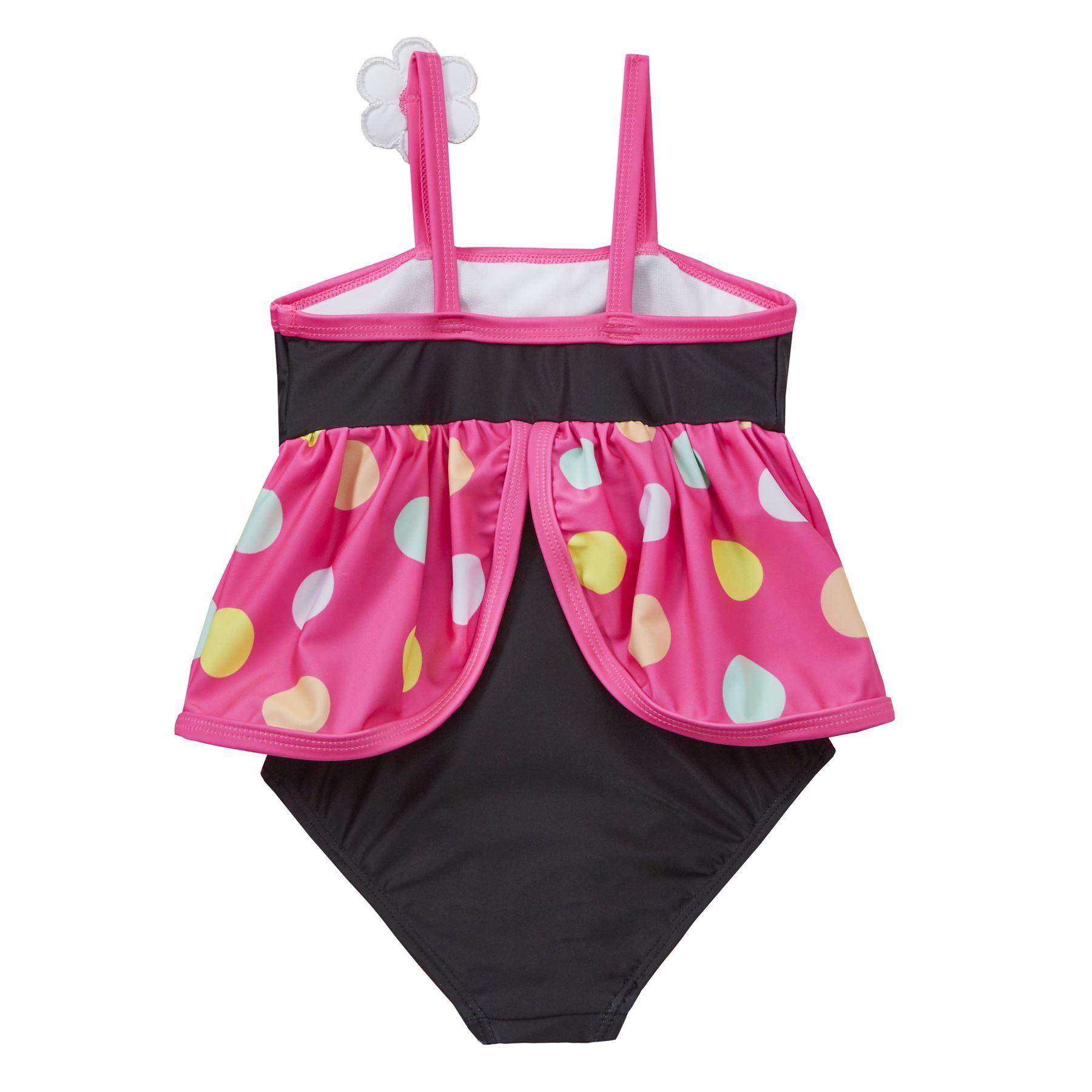 Girls//Kids Animal Swimming Costume Swimsuit Childrens Swimwear Age 2-6 Years