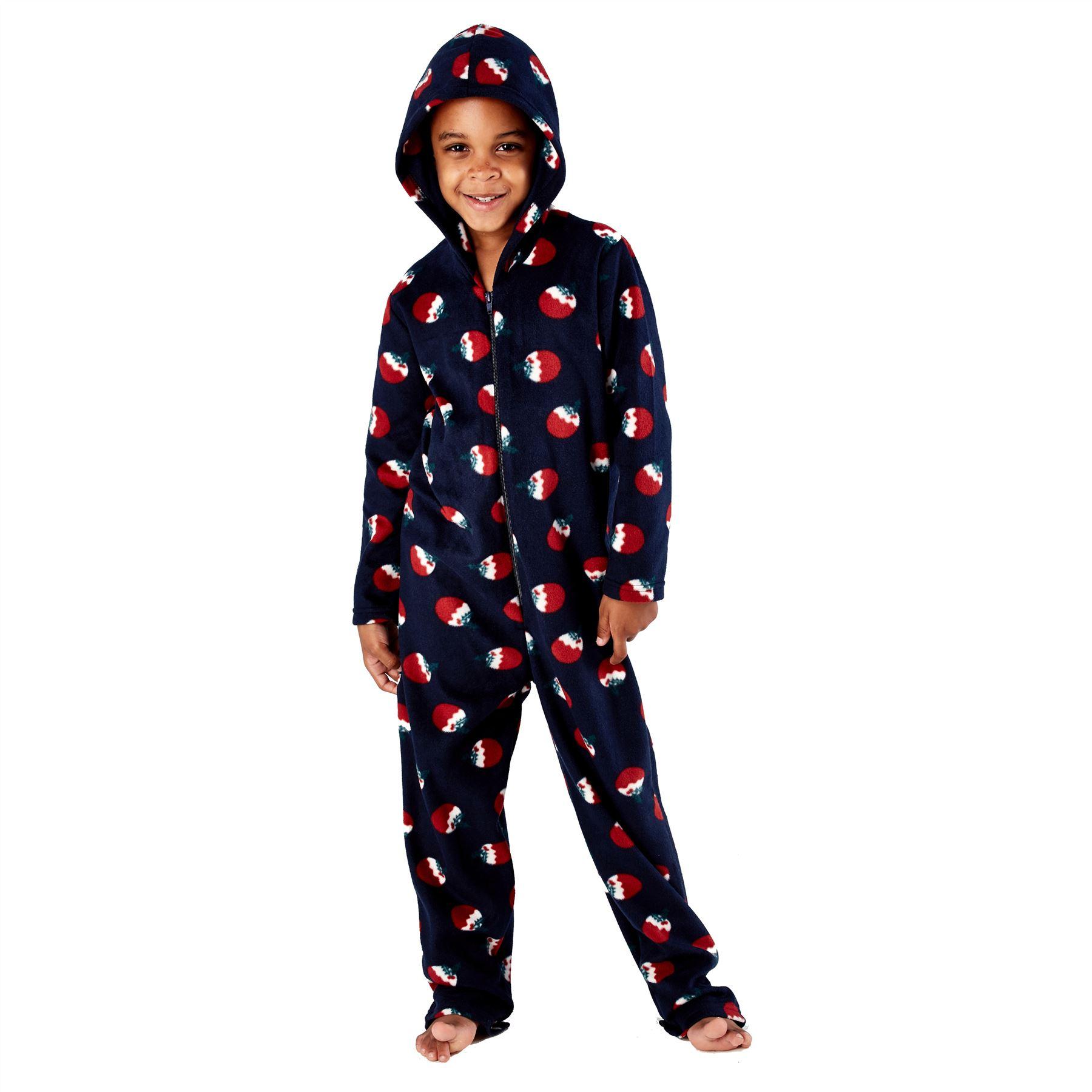 Family Matching Christmas Eve All In One Pyjamas Mens//Ladies//Boys//Girls Pyjama