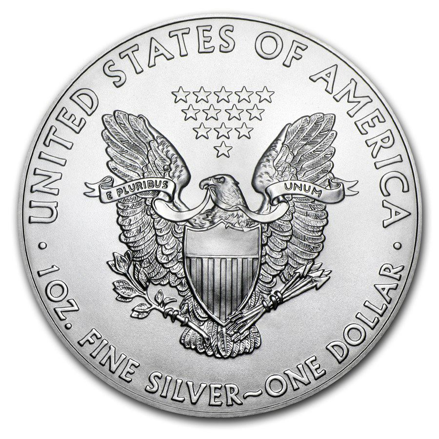 American Silver Eagle 1 oz Coin | Roll of 20 Dates Our Choice