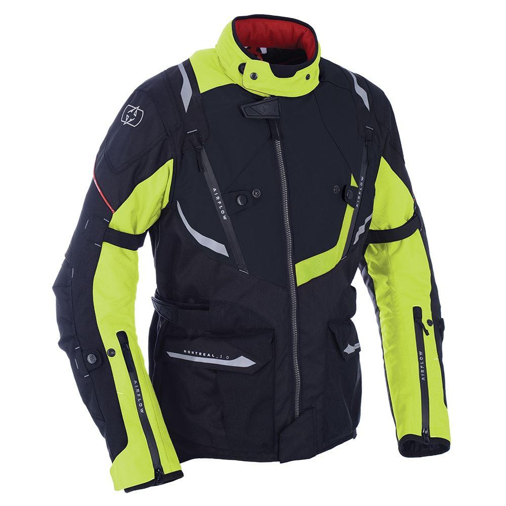 Oxford Montreal 3.0 Textile Motorcycle Motorbike Sports Riding Jacket Waterproof