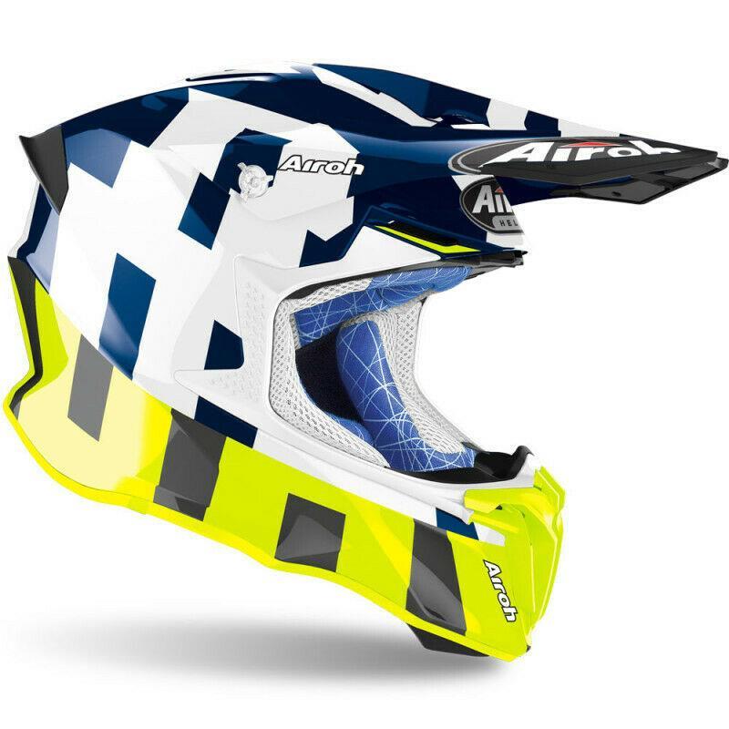 Airoh 2020 Twist 2.0 Frame Helmet Off Road Motorcycle Bike Motocross Enduro MX