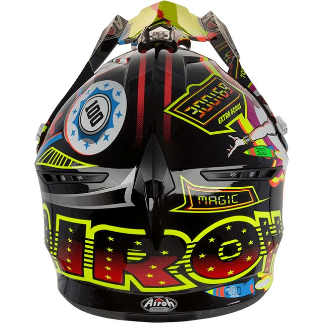 Airoh New Thermoplastic Switch Motocross Off Road Helmet Double D Ring