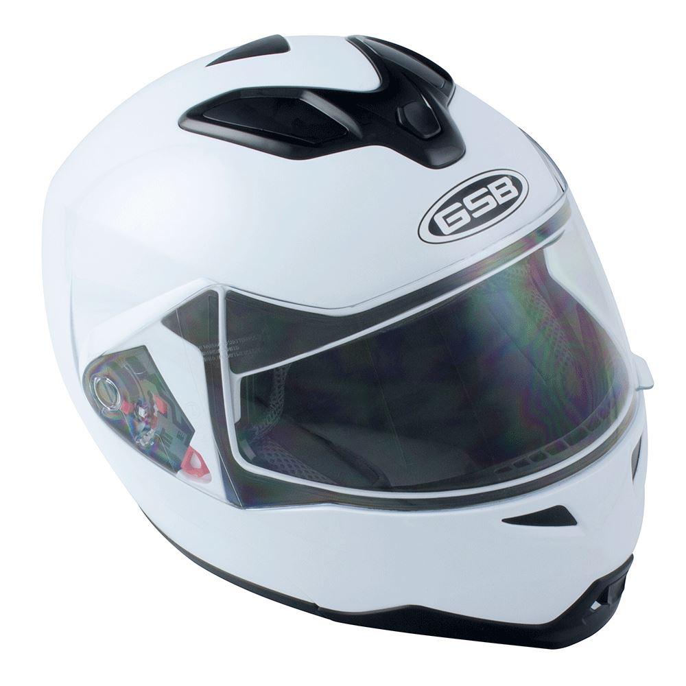 GSB Moto Bicicleta Levante G339 de doble casco de carreras de carretera Touring Visera superior