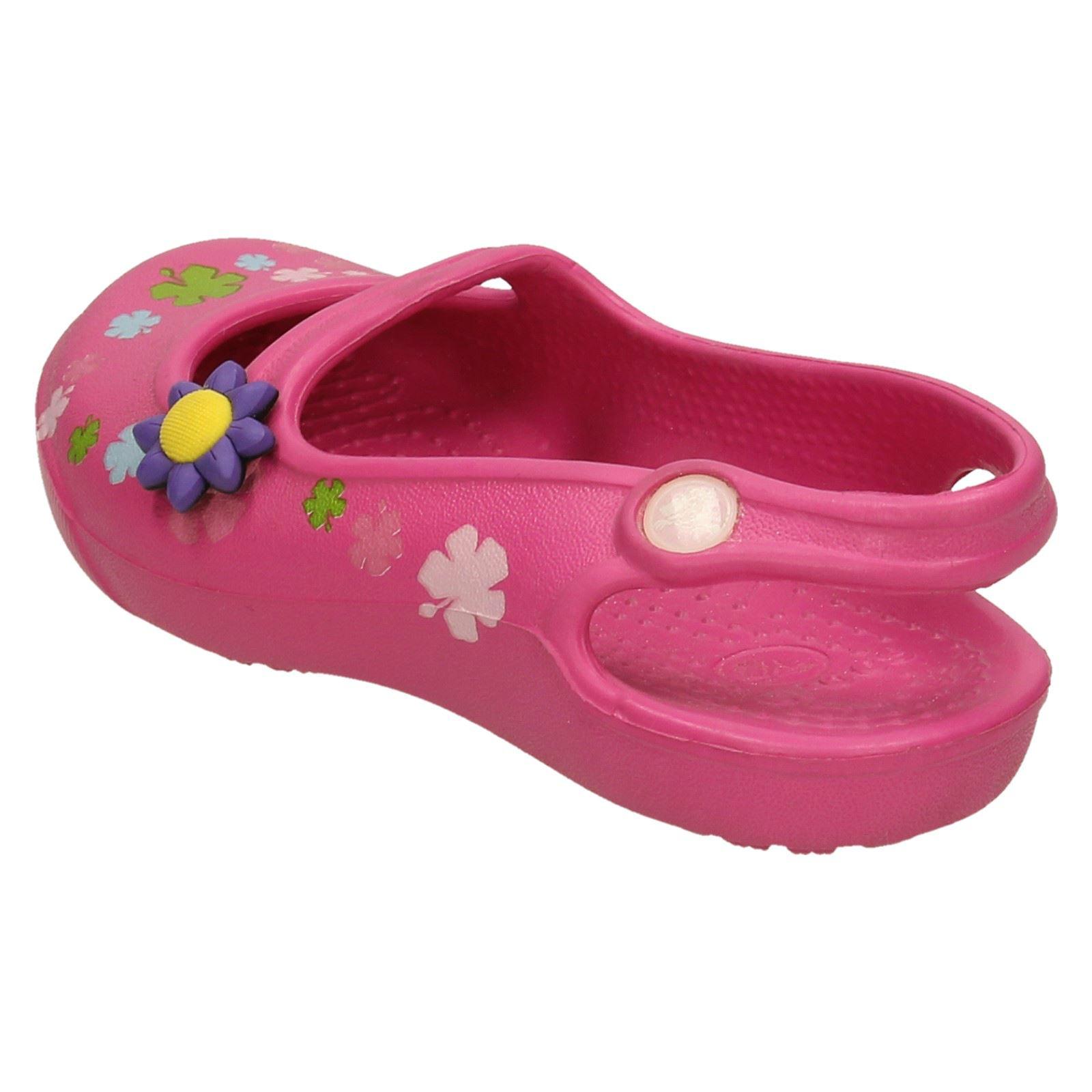 Girls Crocs Slip On Sandals *Gabby Flowers*