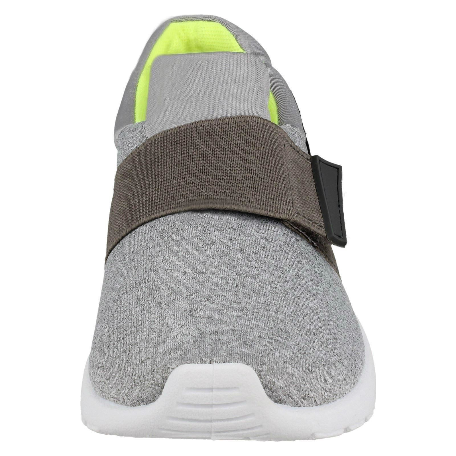 Girls Reflex Elastic Band Slip On Trainers