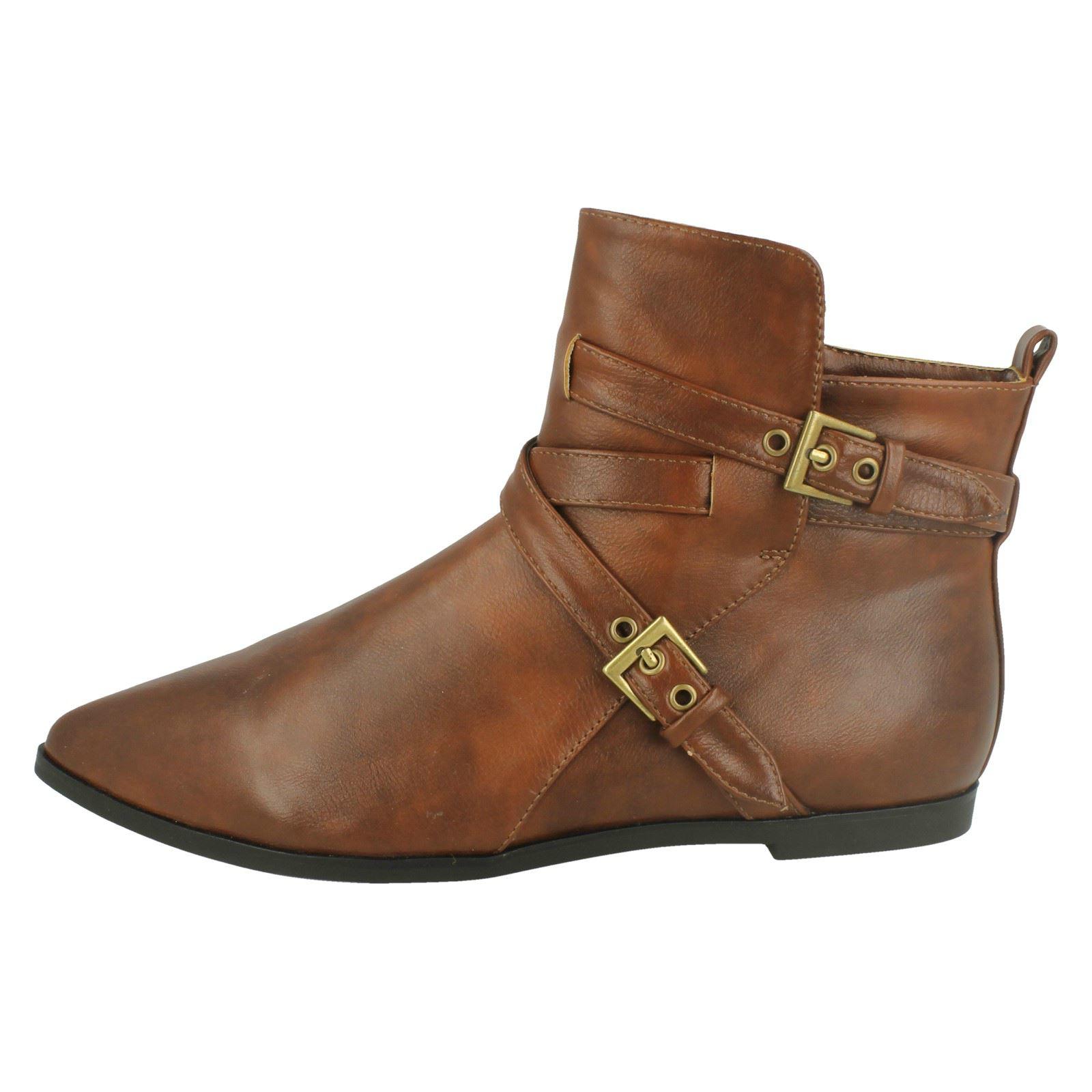 Ladies Spot On Pixie Boots