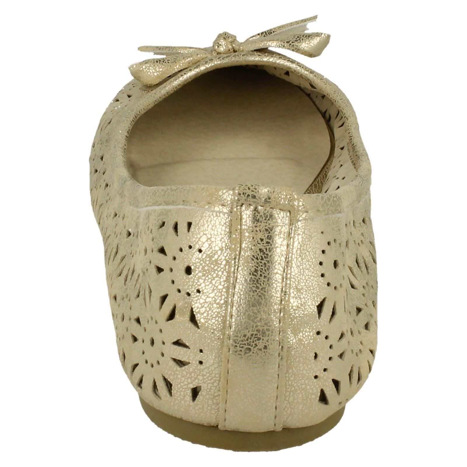 Ladies Spot On Slip On Ballerina Dolly Shoes