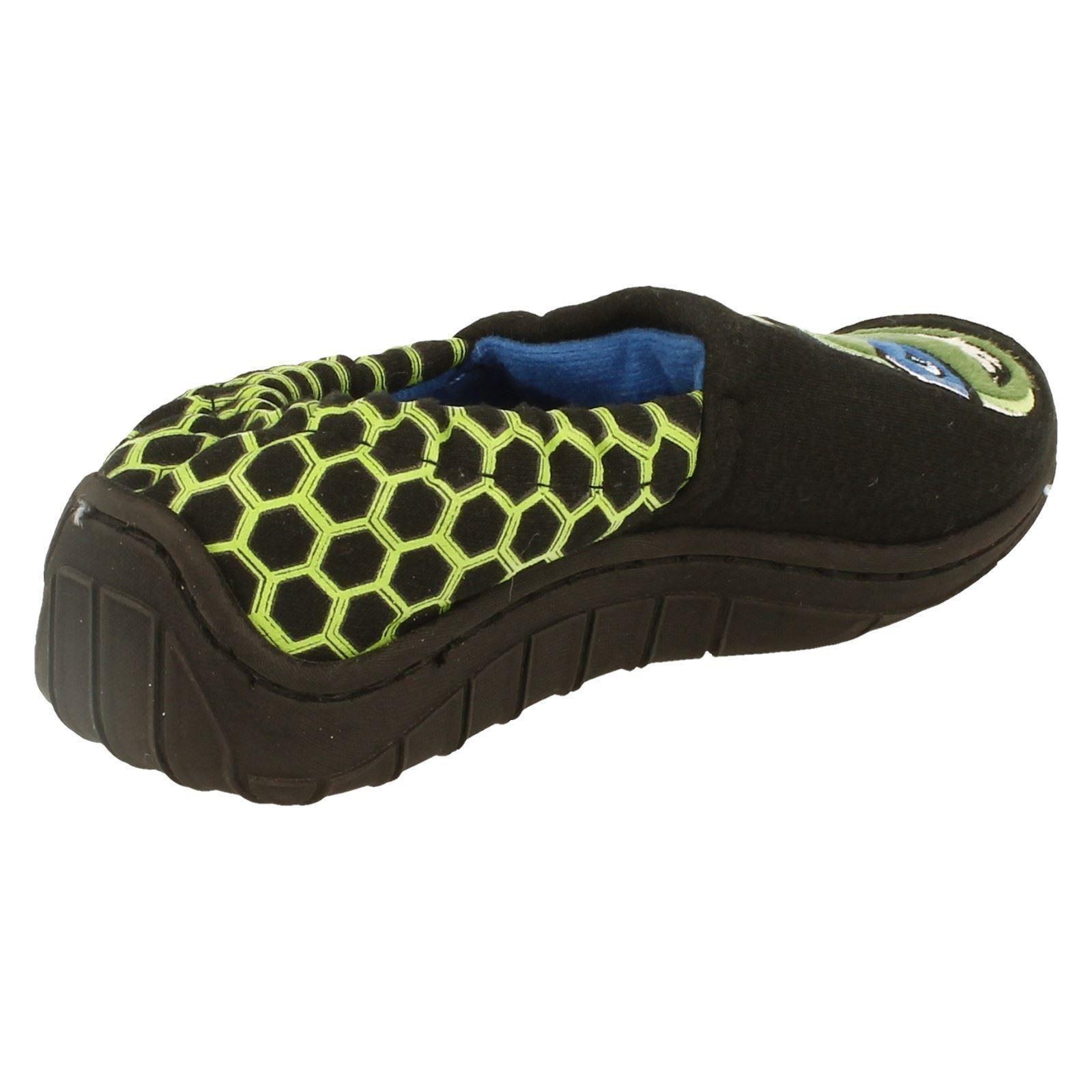 Childrens Boys Teenage Mutant Ninja Turtles Slippers