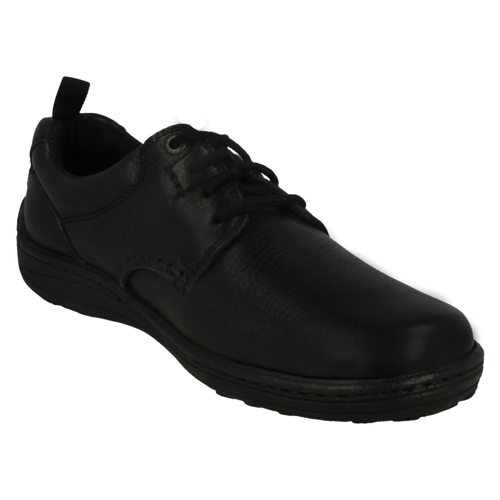 Belfast Lace Hush Puppies Mens Formal Lace Up Shoes