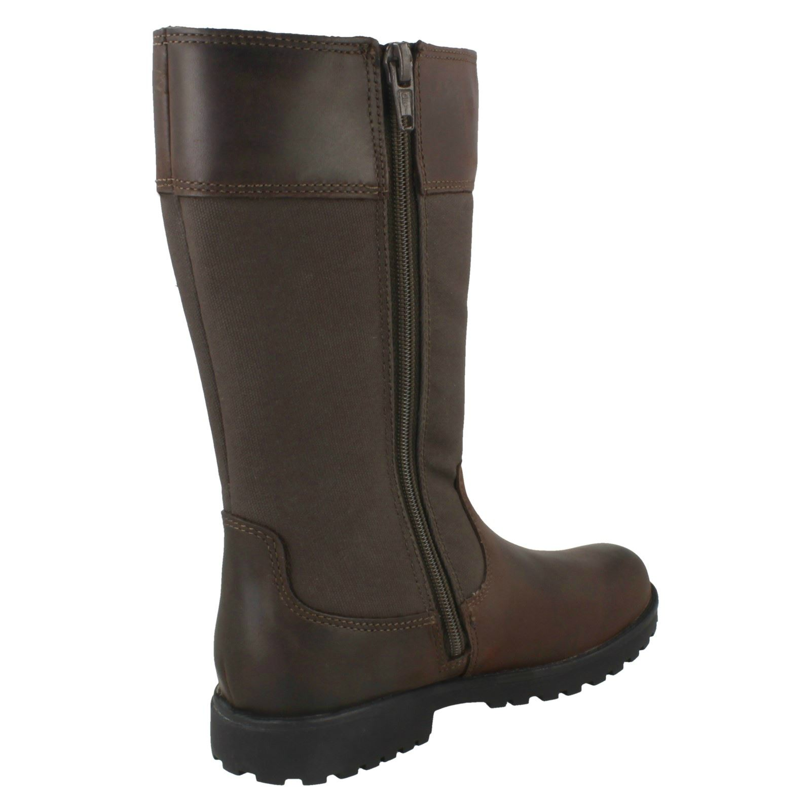 Girls Clarks Knee High Boots /'Rhea Go GTX/'
