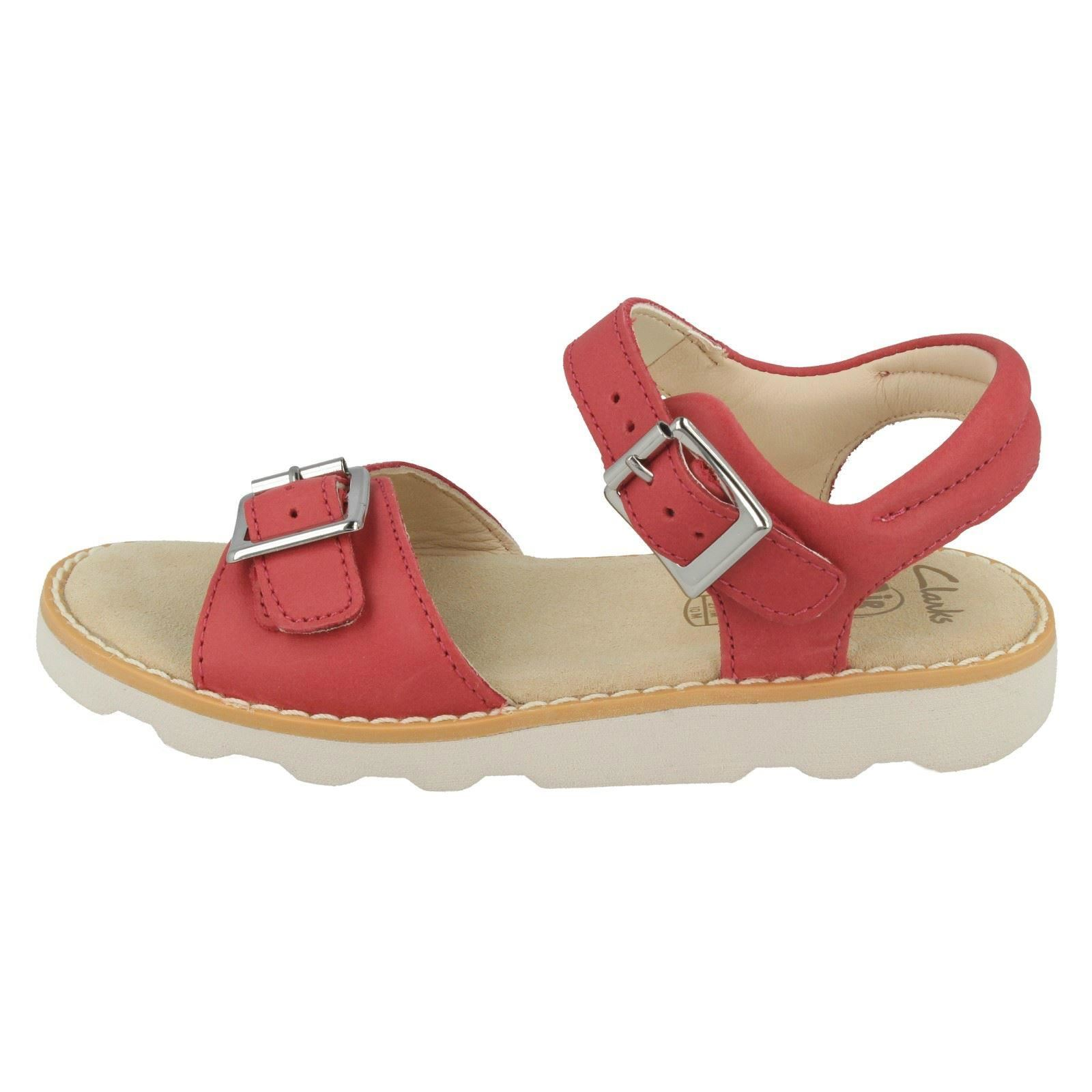 /'Girls Clarks/' Casual  Sandals Crown Bloom