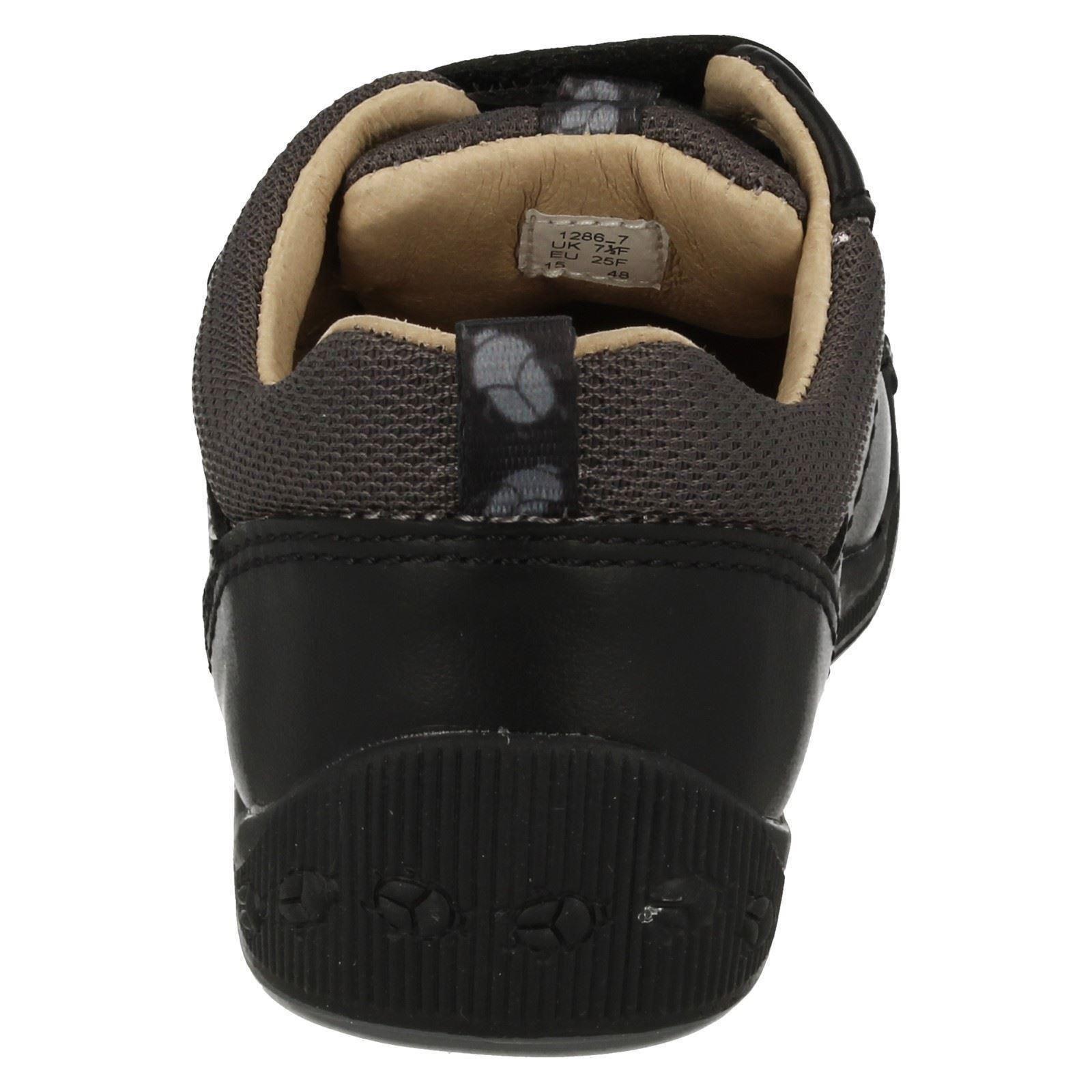 Garçons Startrite Décontracté Premier Crochet /& Boucle Sangle Chaussures En Cuir Super Doux Beetlebug