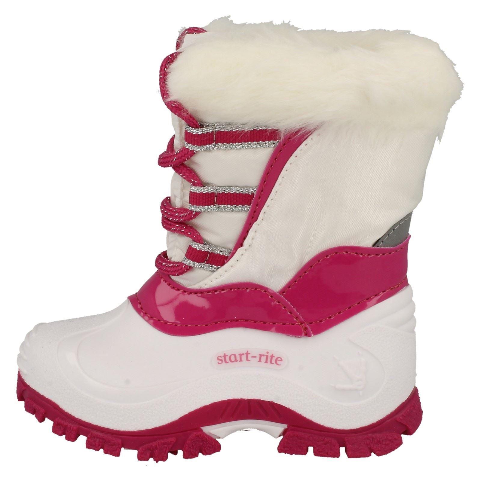 Girls Startrite Winter Snow Boots Fantasy