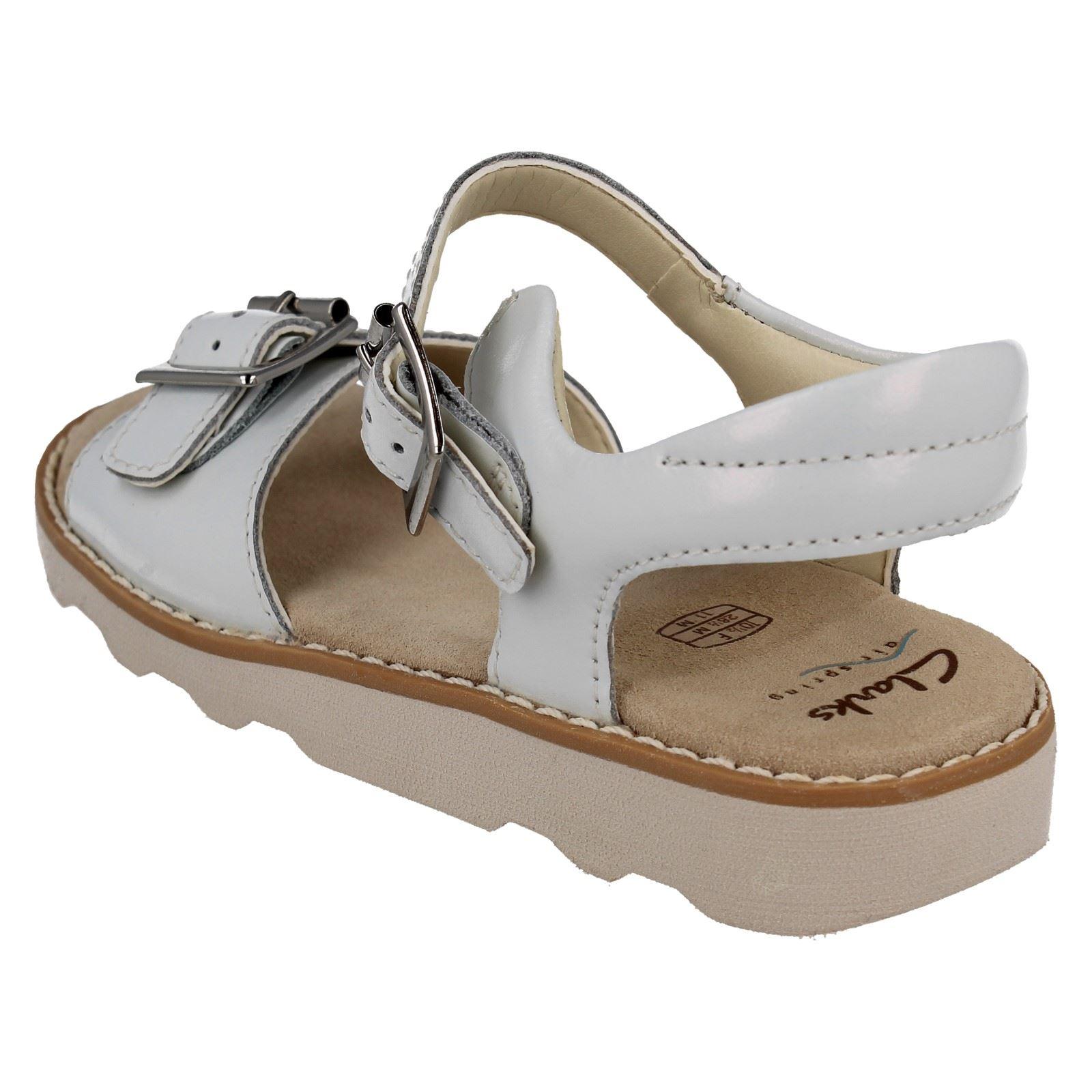 Girls Clarks Stylish Summer Sandals Crown Bloom K