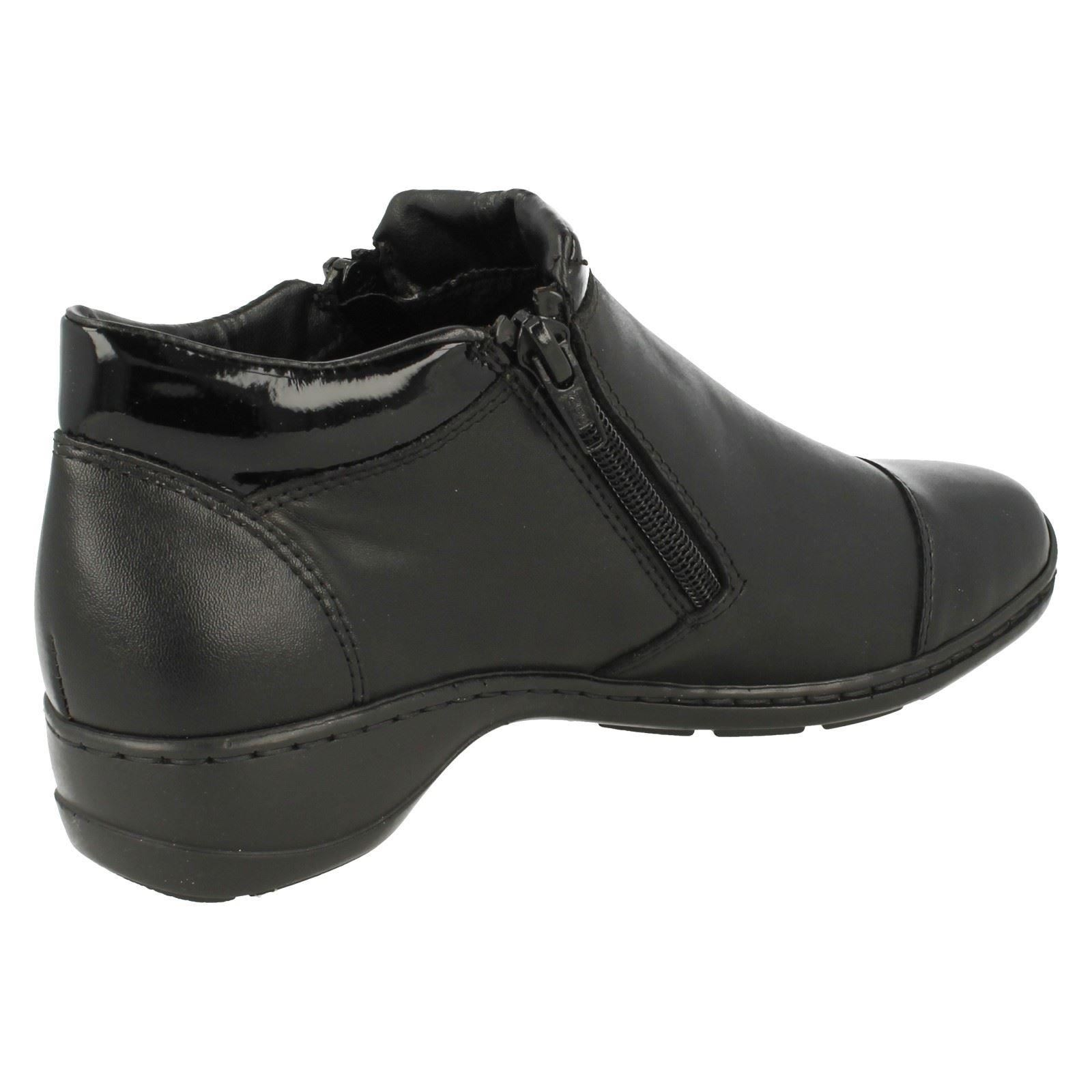 Ladies Rieker Casual Ankle Boots /'58374/'