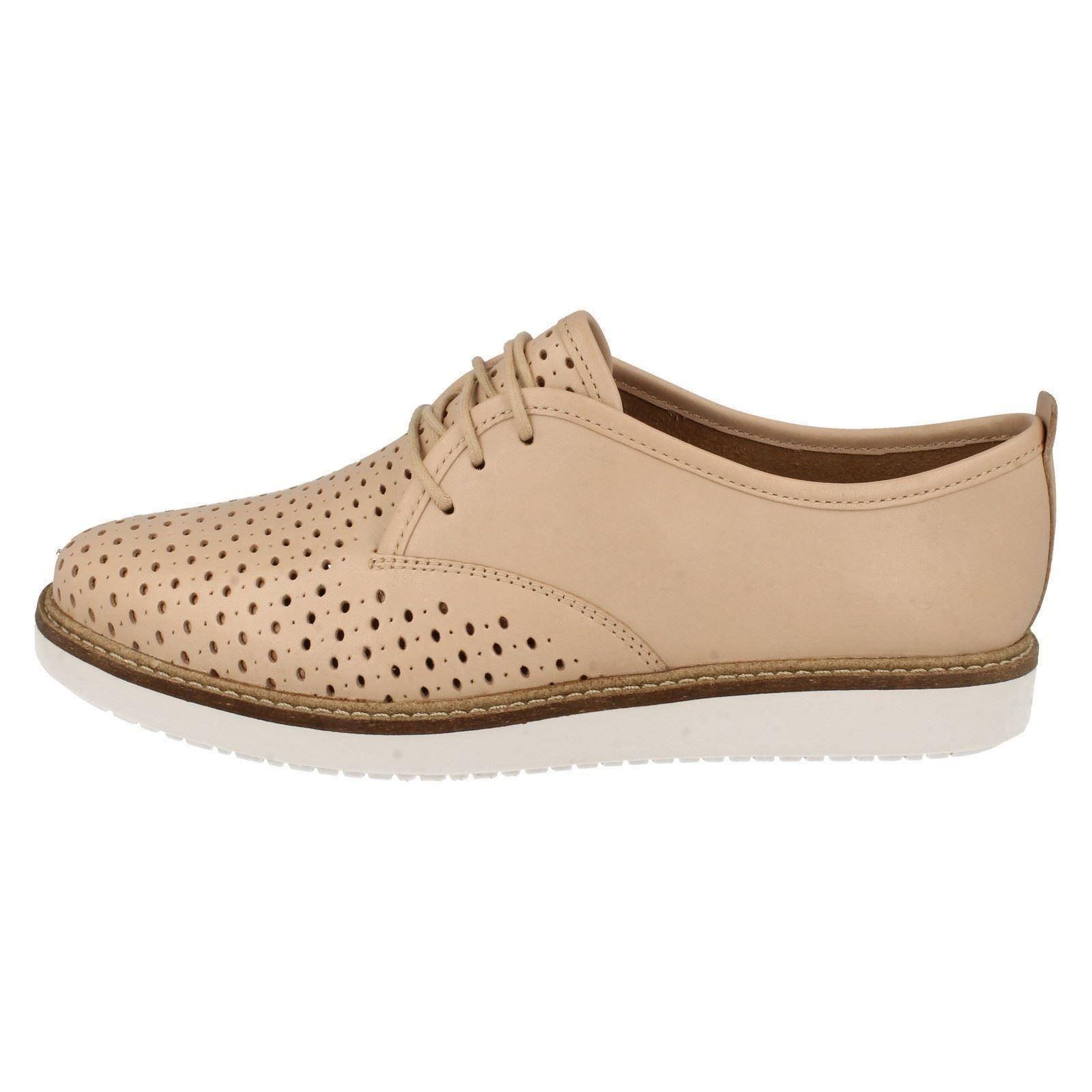 Ladies Clarks Casual Shoes /'Glick Resseta/'