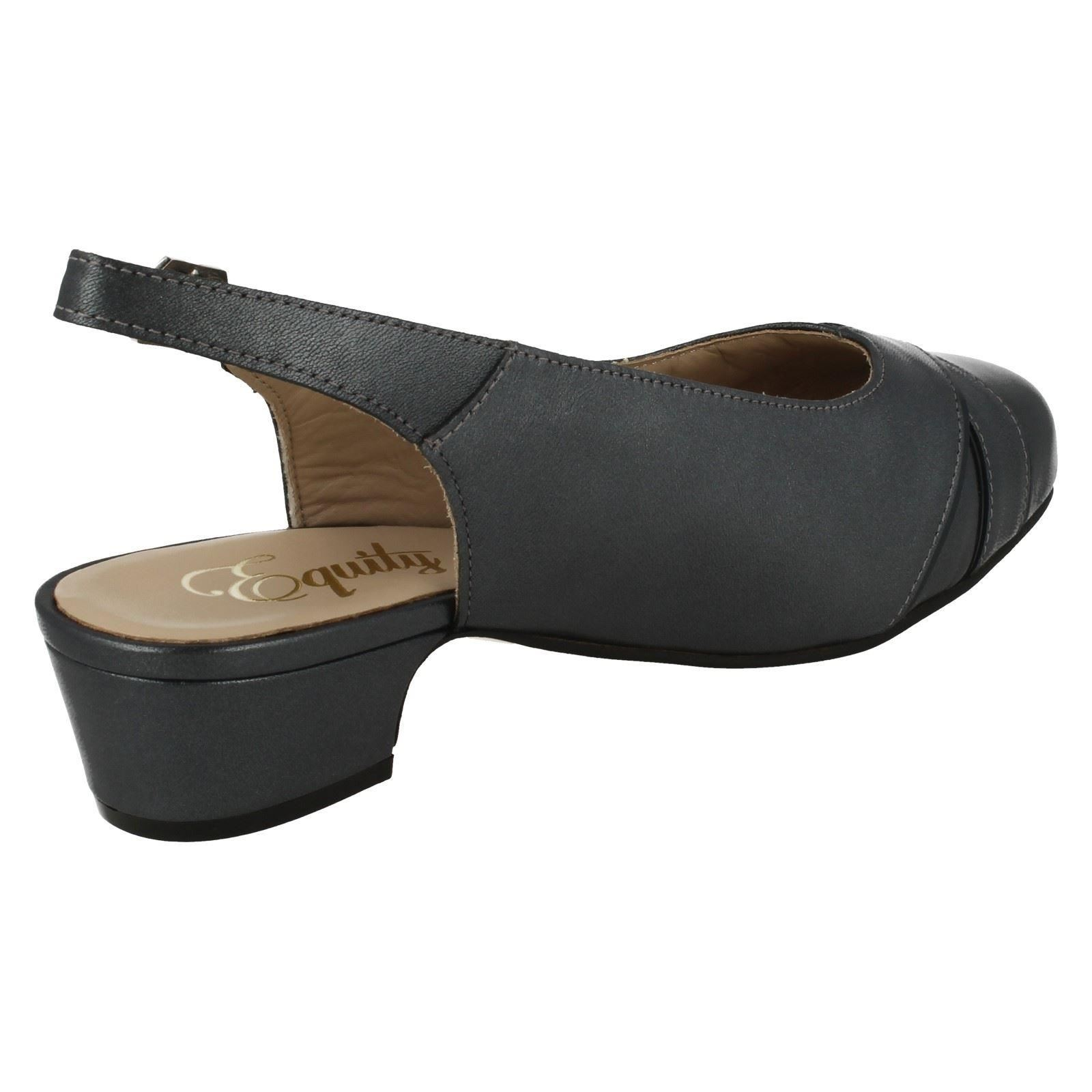 Ladies Equity Low Heel Casual Slingback Shoes Cressy
