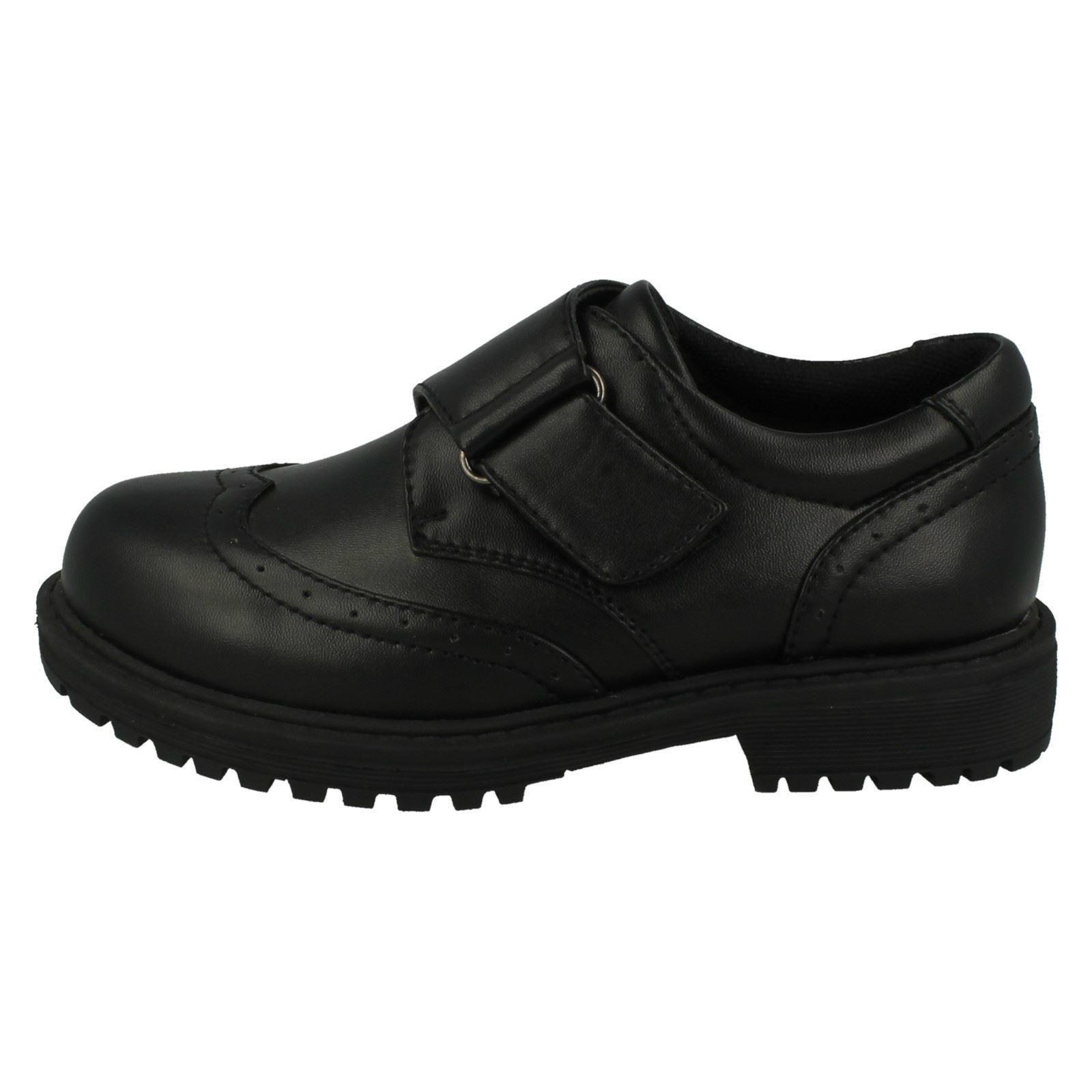 Garçons Cool 4 school école Chaussures N1095