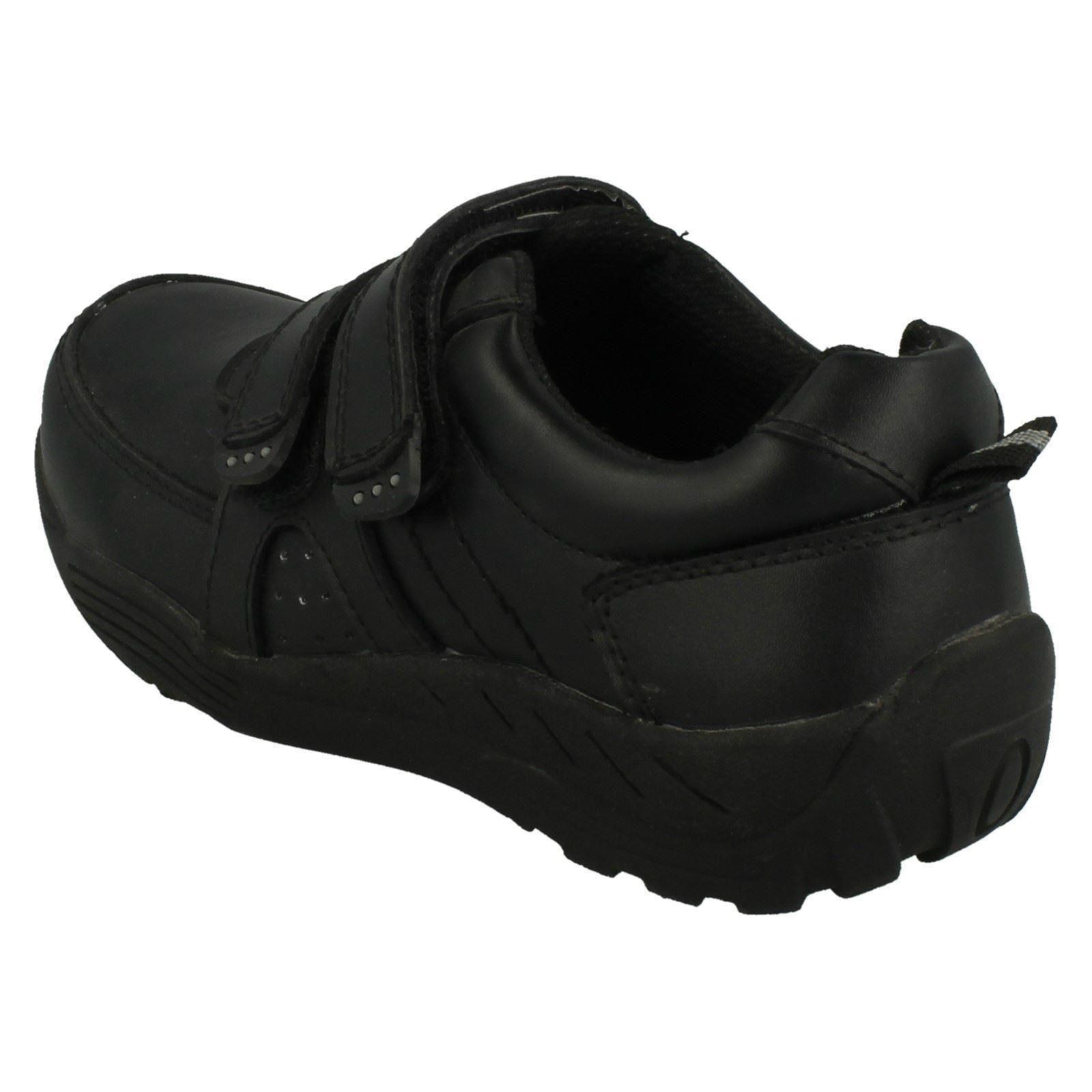 Red Tag En Cuir Garçons École Chaussures