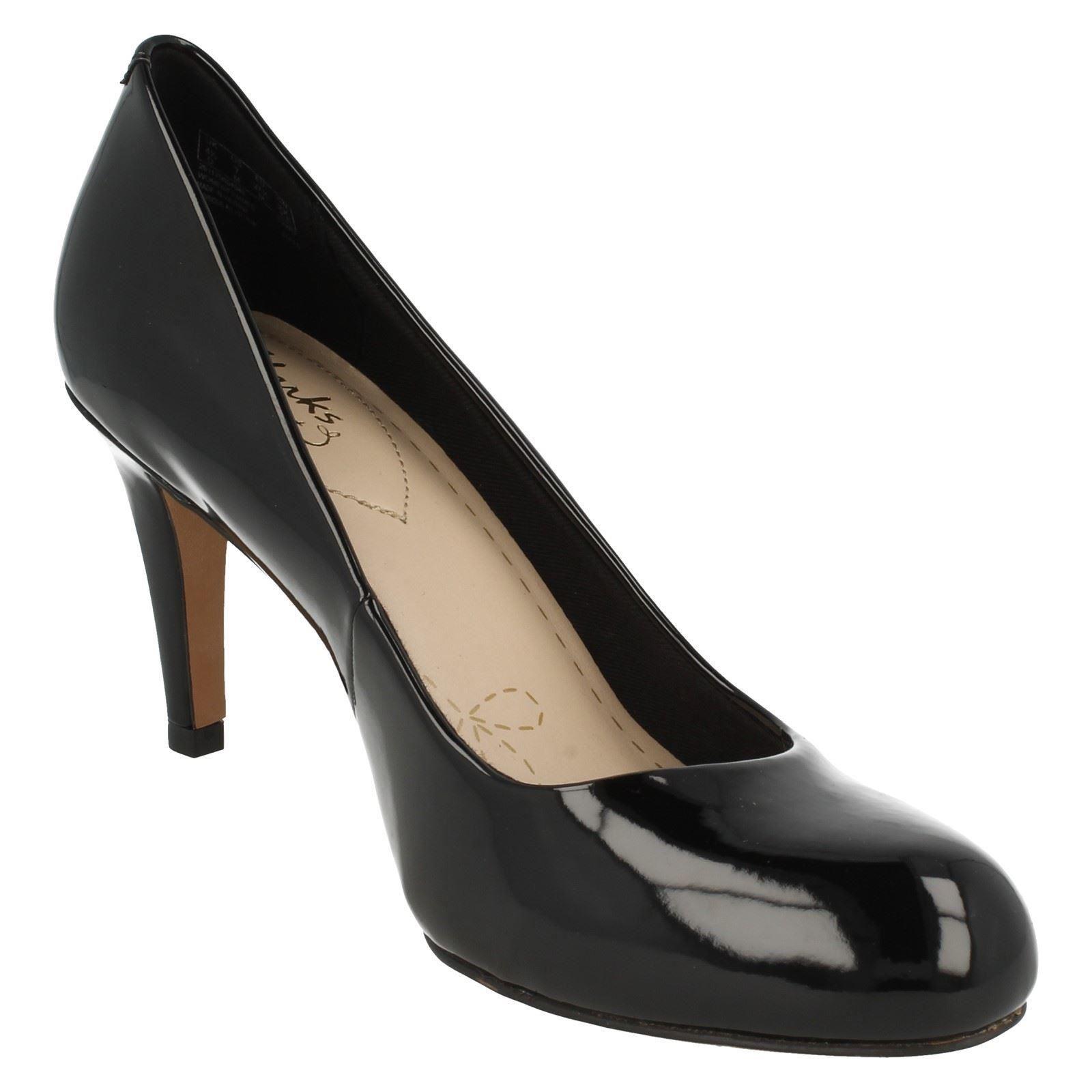 Ladies Clarks Fashion Court Shoes Carlita Cove