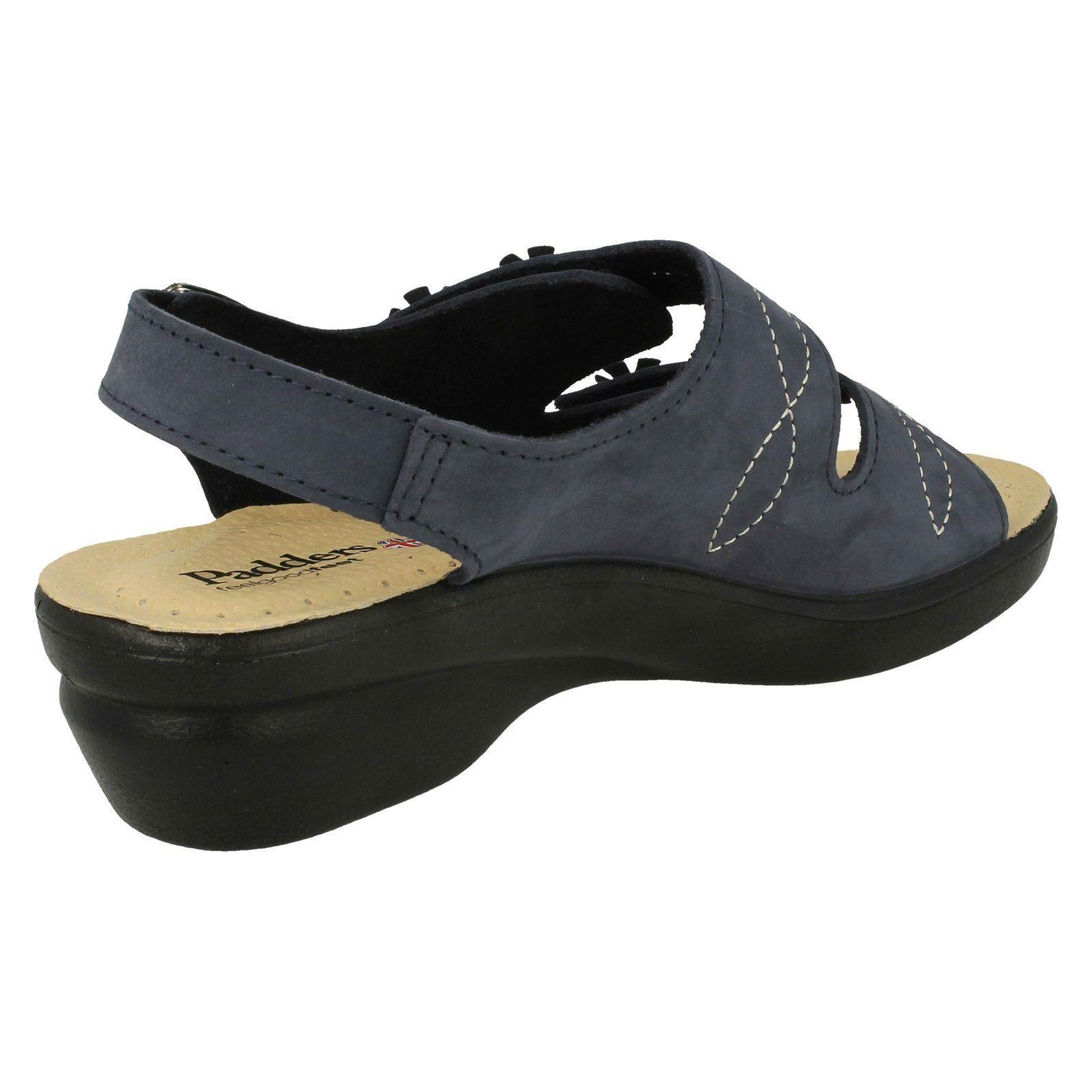 Ladies Padders Hook /& Loop Sandals Bluebell