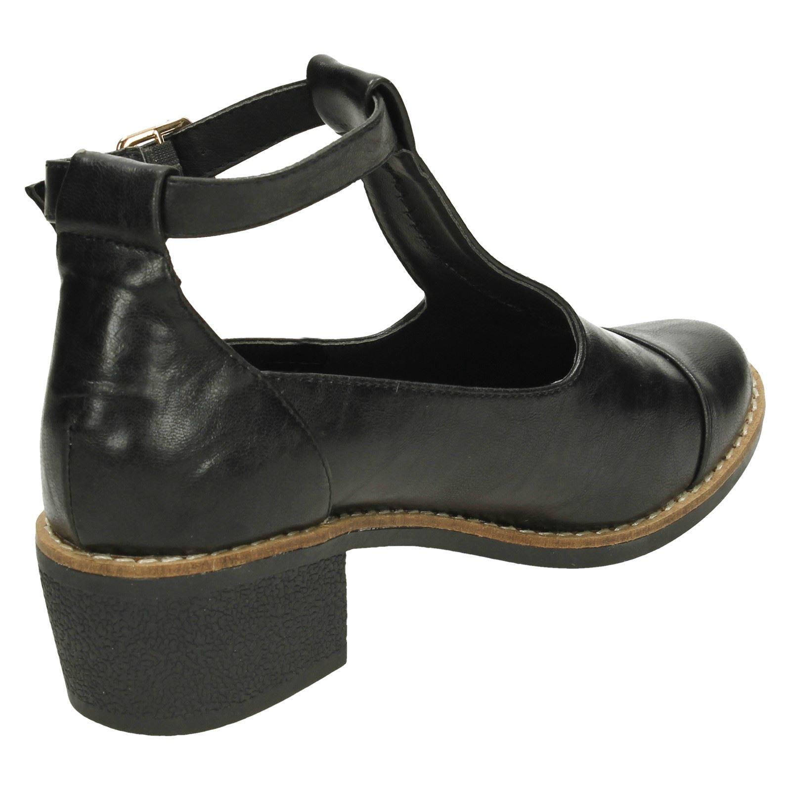 Ladies Anne Michelle T-Bar Boot