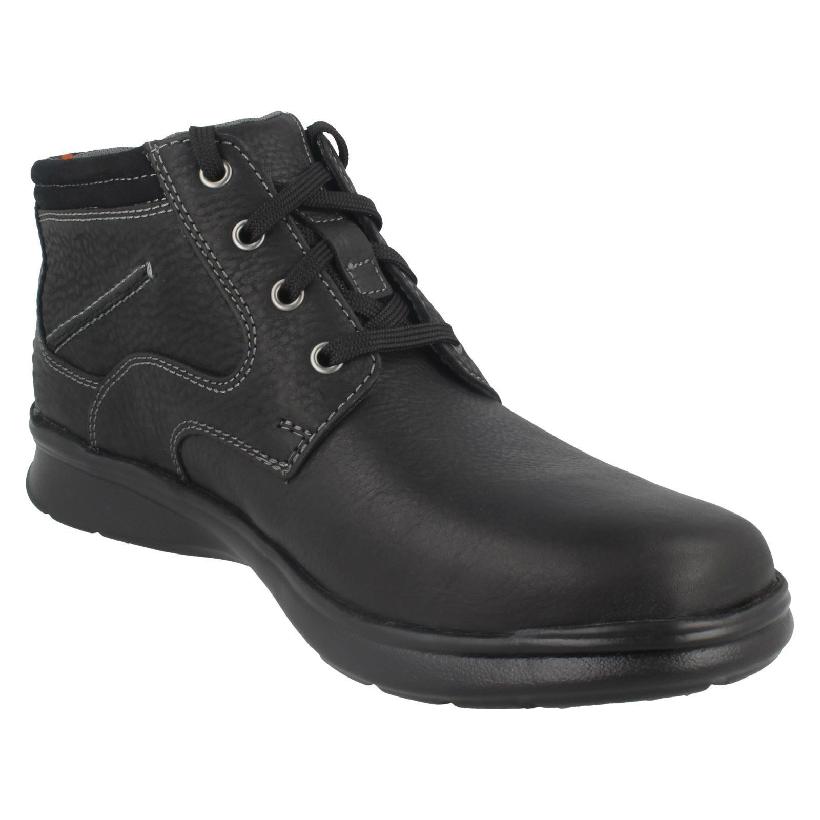 Clarks Mens Casual Lace Up Ankle Boots Cotrell Rise