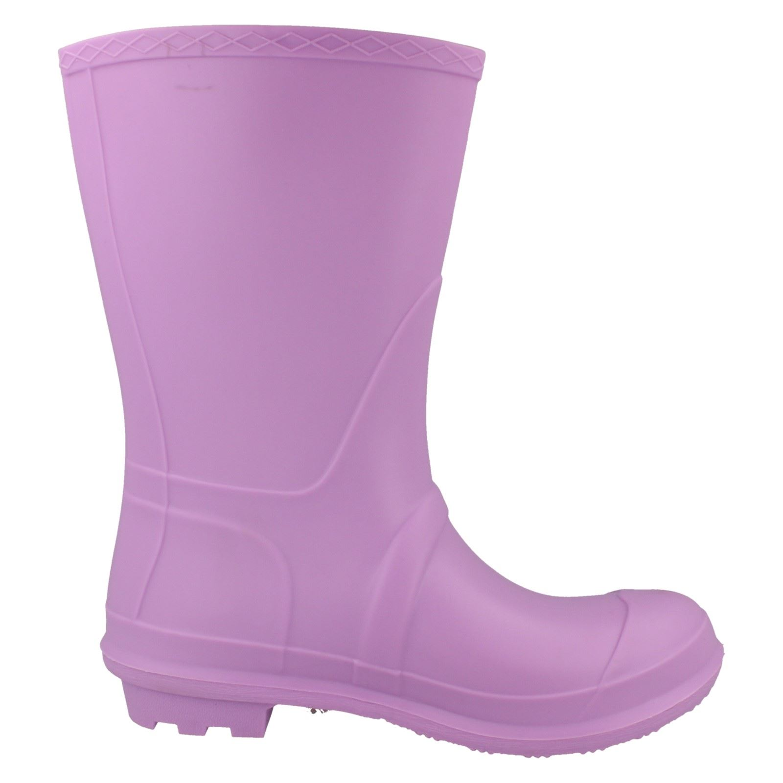 Ladies Spot On Buckle Detail /'Wellington Boots/'
