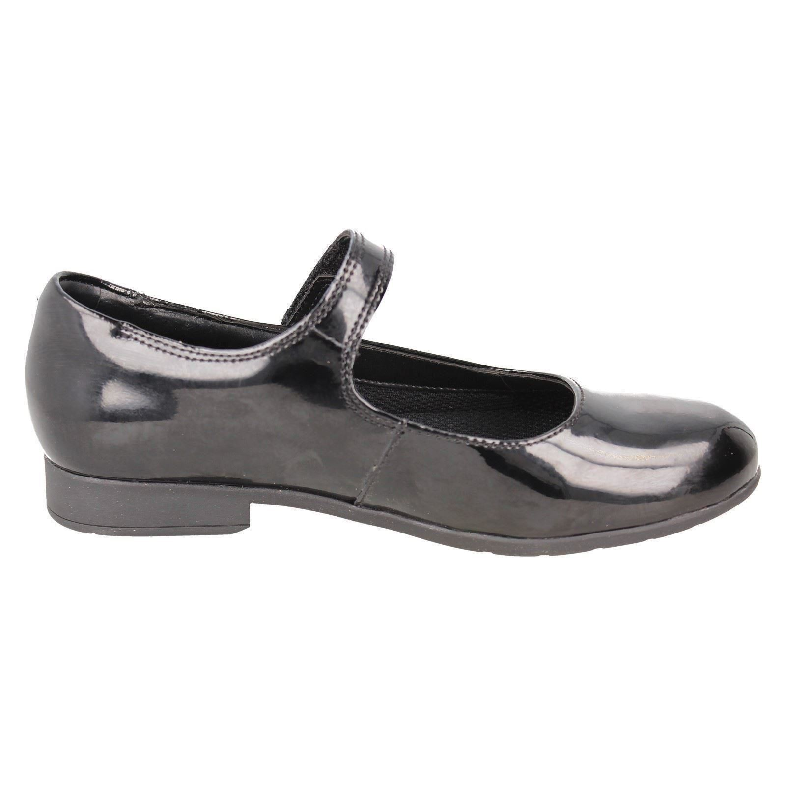 Girls Clarks Scala Pure Formal//School Shoes Scala Pure