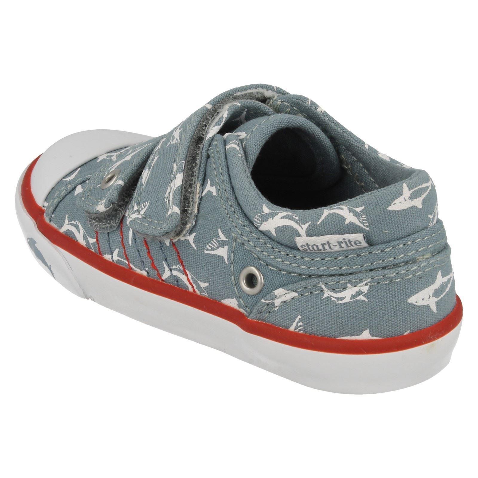 Boys Startrite Canvas Shoes /'Sea Spray/'