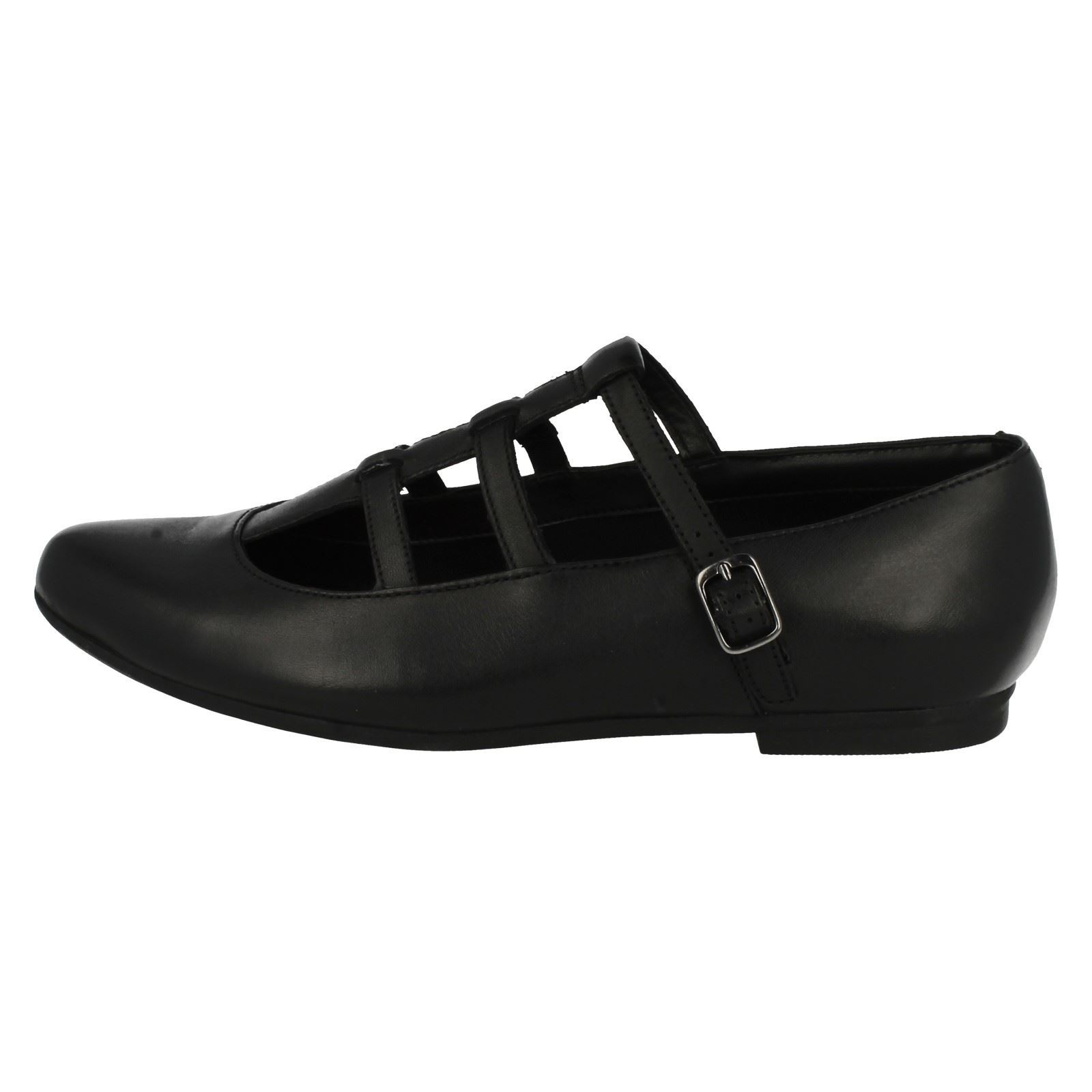 Senior Girls Bootleg by Clarks School Shoes *QuartzFlash BL*