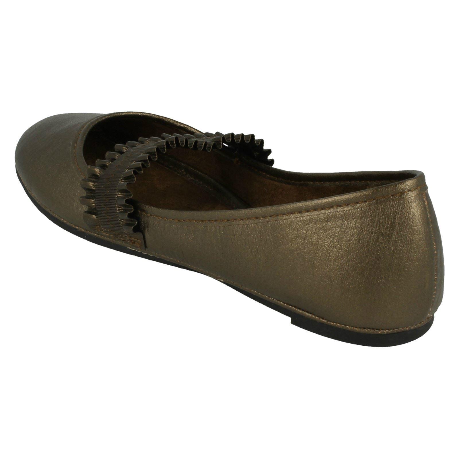 Spot on Damas Zapatos Planos Dolly
