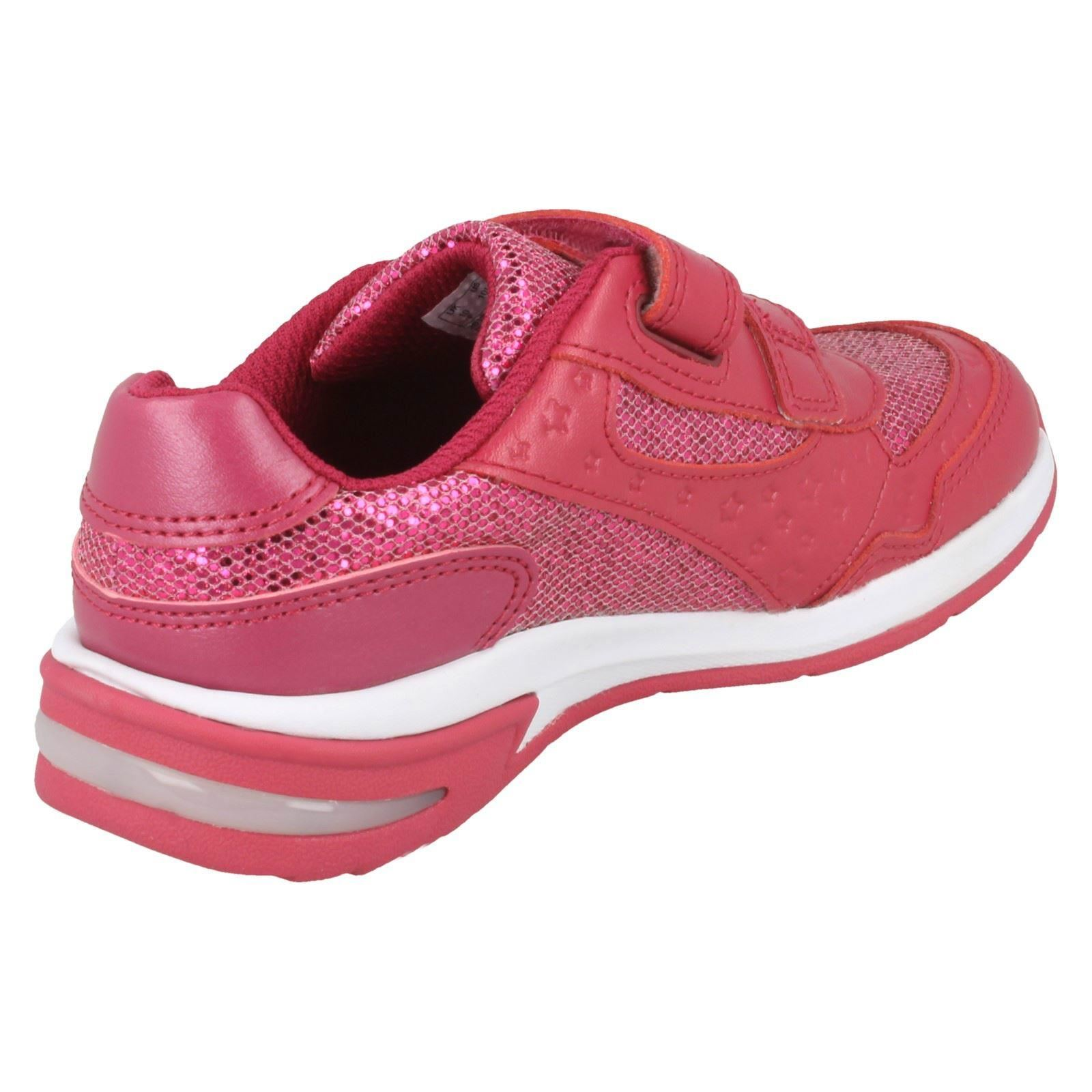 Girls Clarks Piper Play Trainers With Star Detail