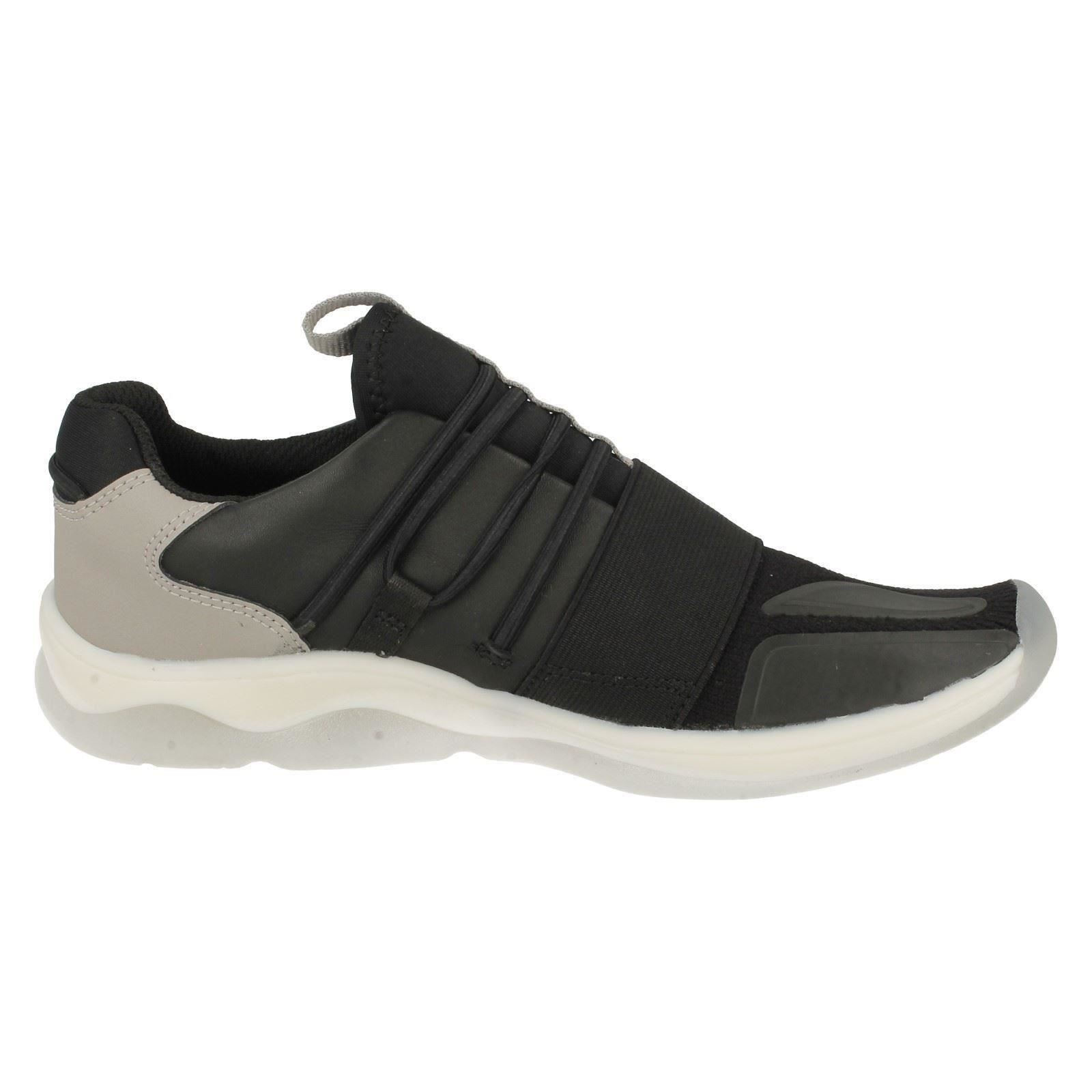 Boys Clarks Fashionable Trainers *Buzzed Fire*