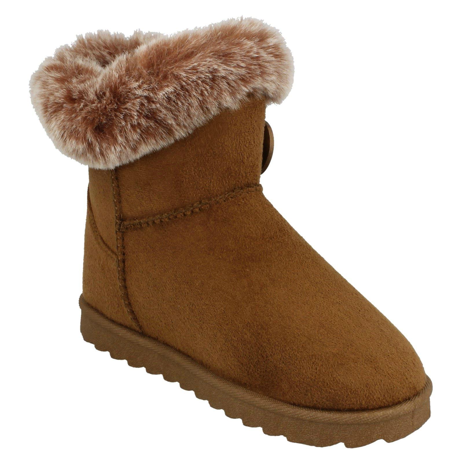 Spot On Girls Winter Boots