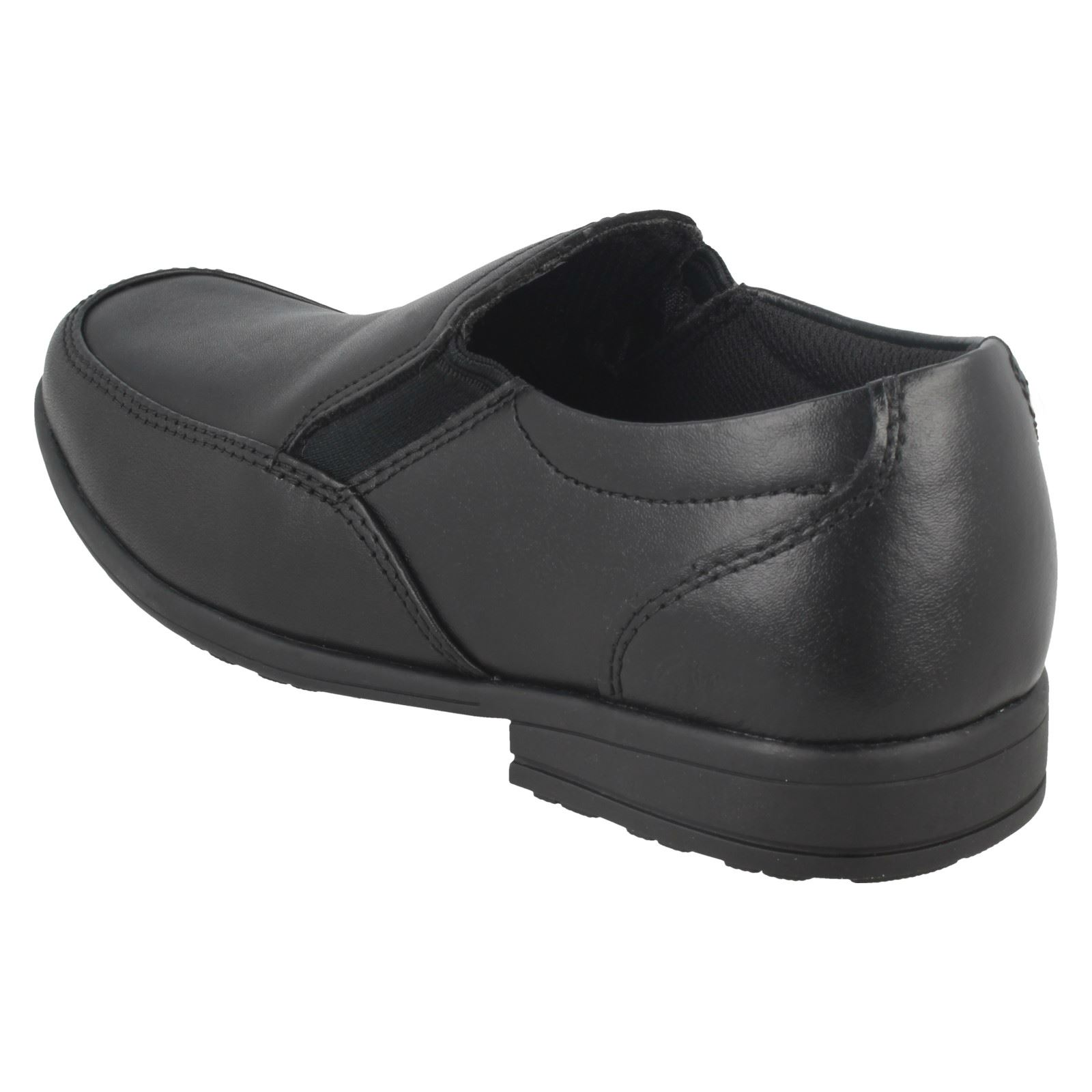 Boys Clarks Loafer Style School Shoes Kooru Step
