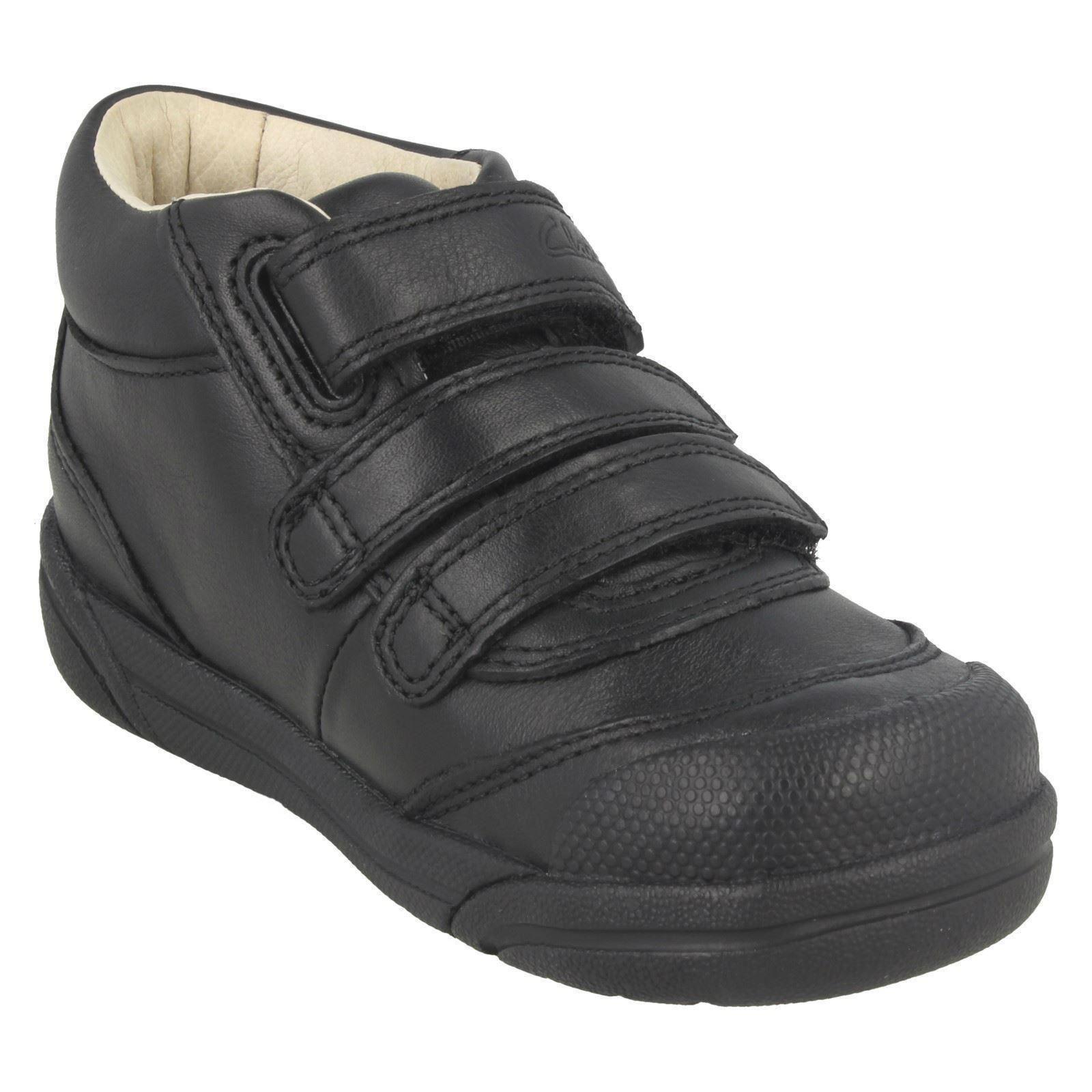 Boys Clarks Ankle Boots Lil Folk Jax