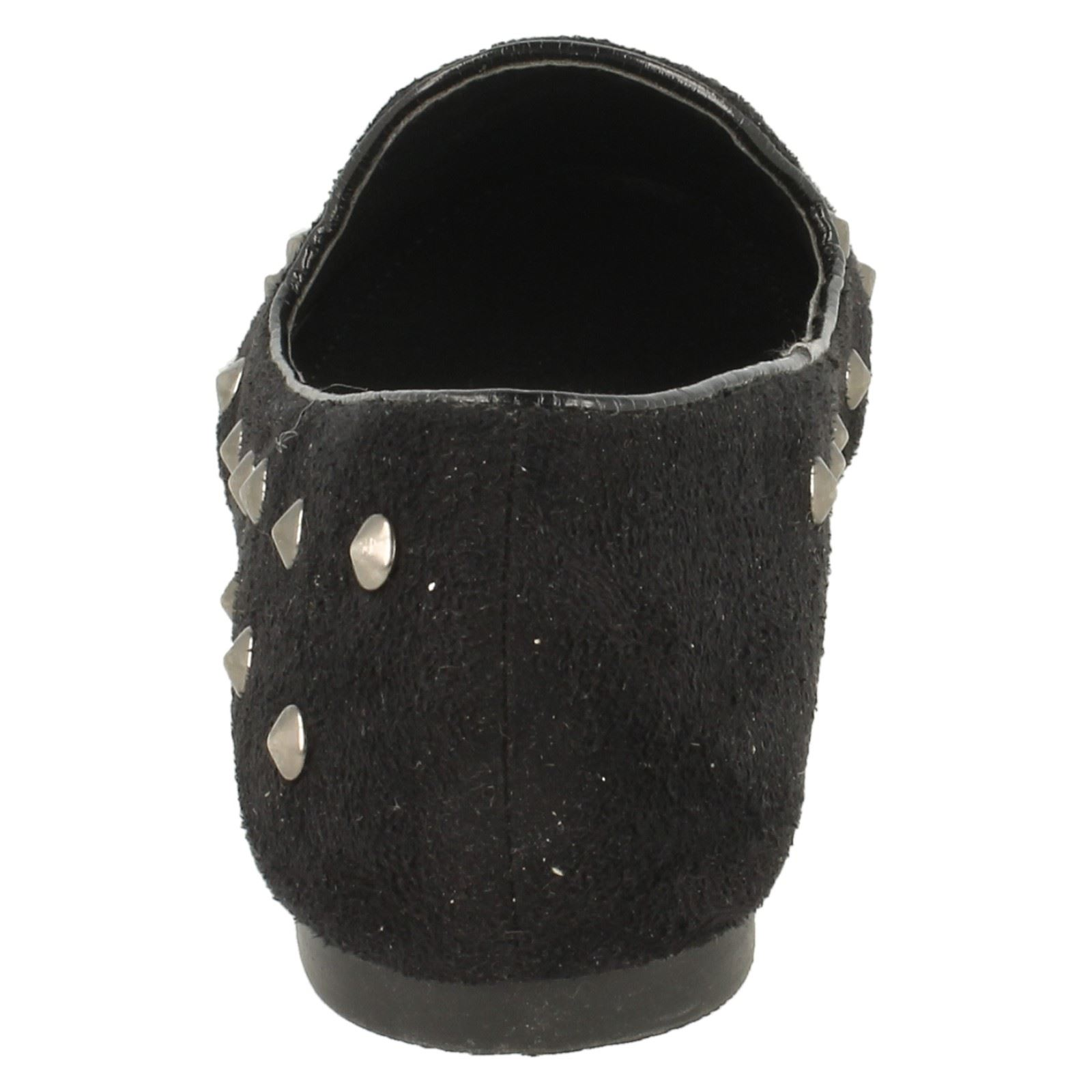 Girls Cutie Studded Loafer Flat Shoes