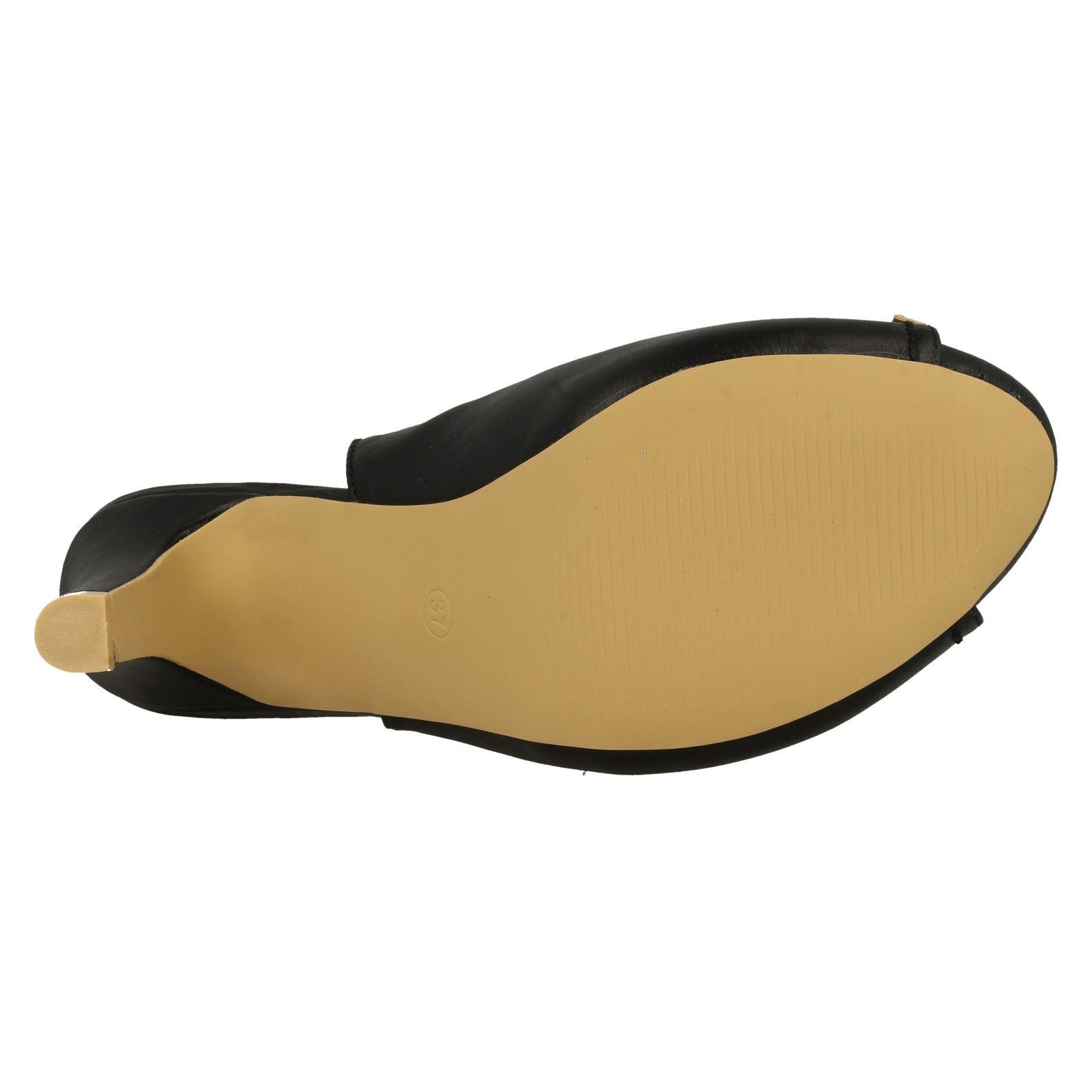 Anne Michelle Ladies Slingback Peep Toe Sandals