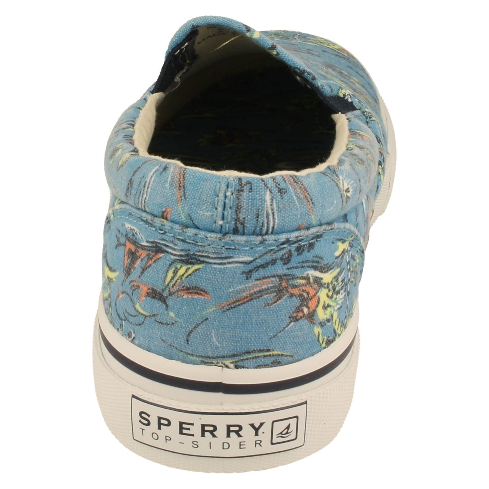 Mens Sperry This Sole Canvas Shoes /'Striper So/'