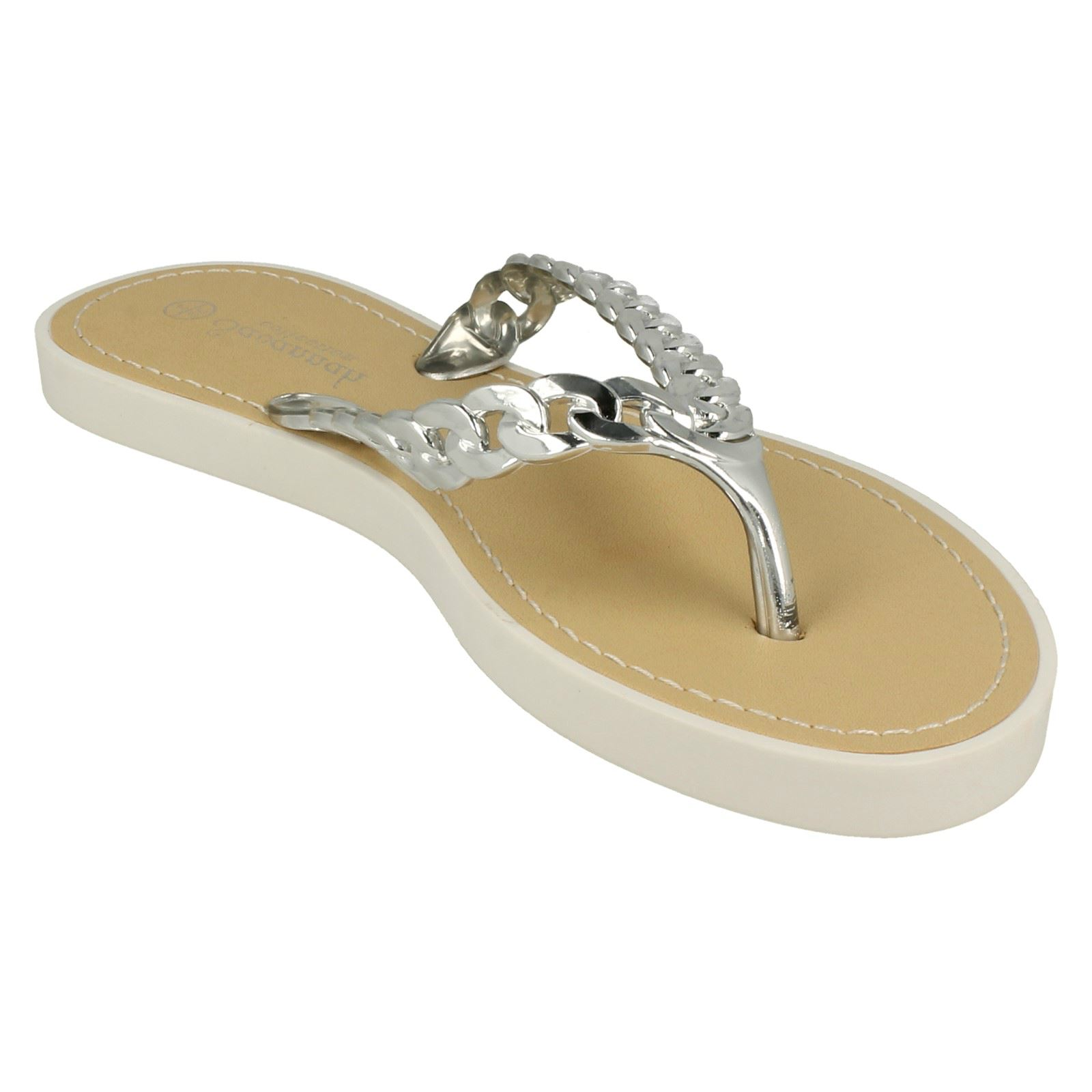 Ladies Savannah Toe Post Sandals