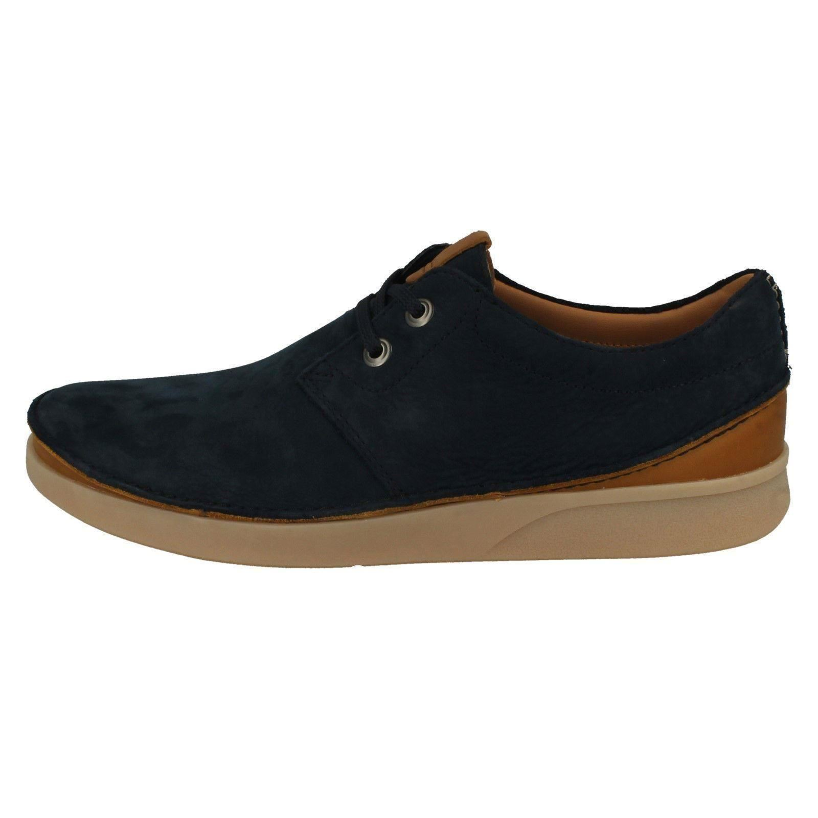 Mens Clarks Casual Lace Up Shoes Oakland Lace