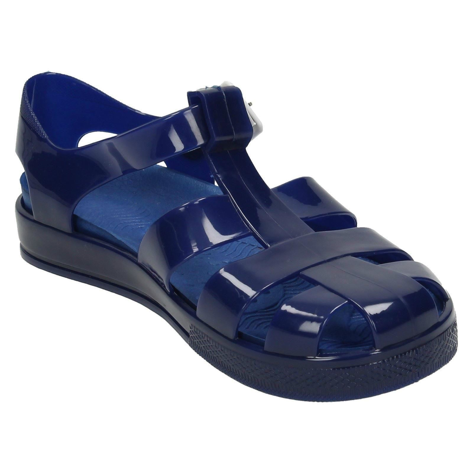 Girls Spot On Flat Casual Jelly /'Shoes/'