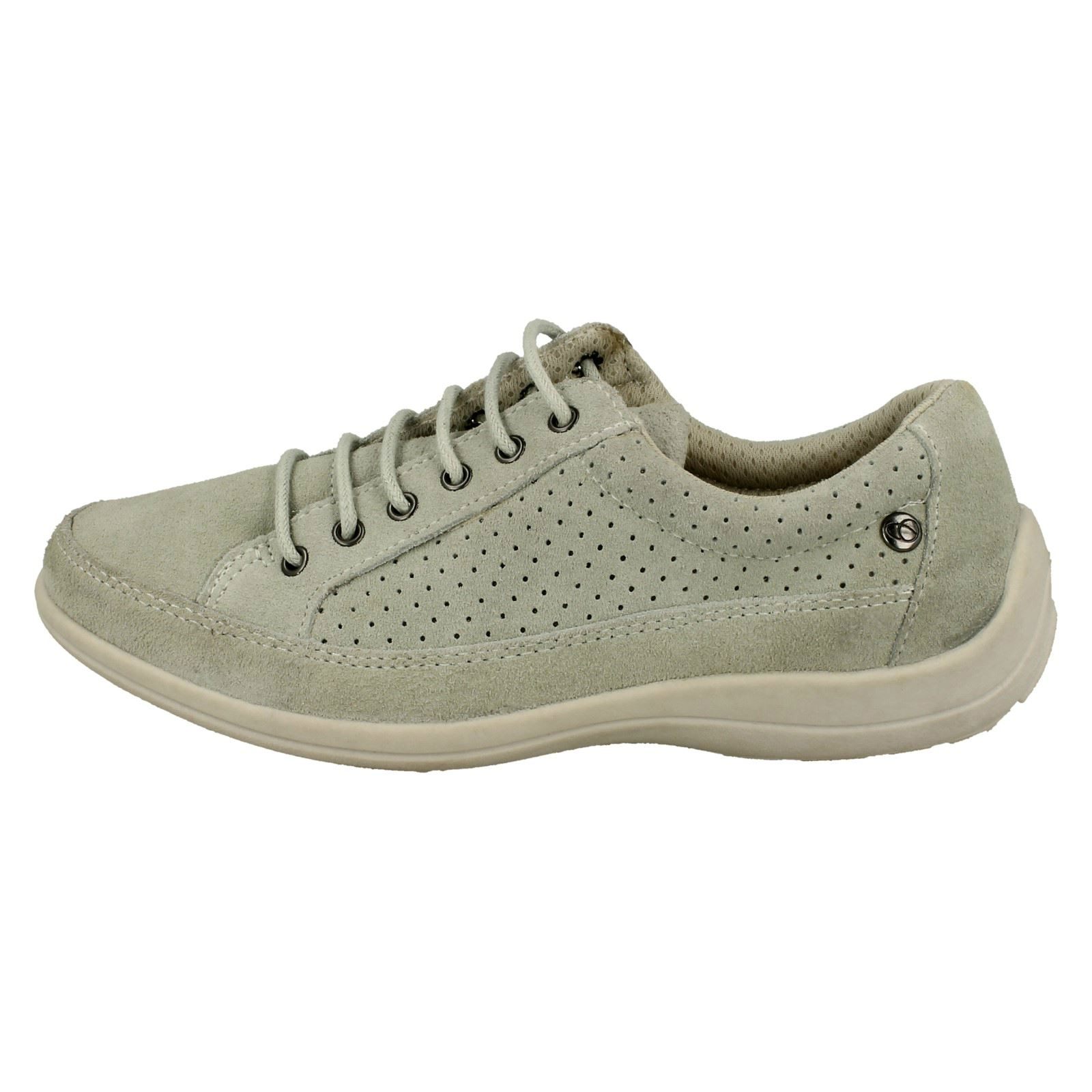 Crocus Free Step Ladies Casual Lace Up Shoes