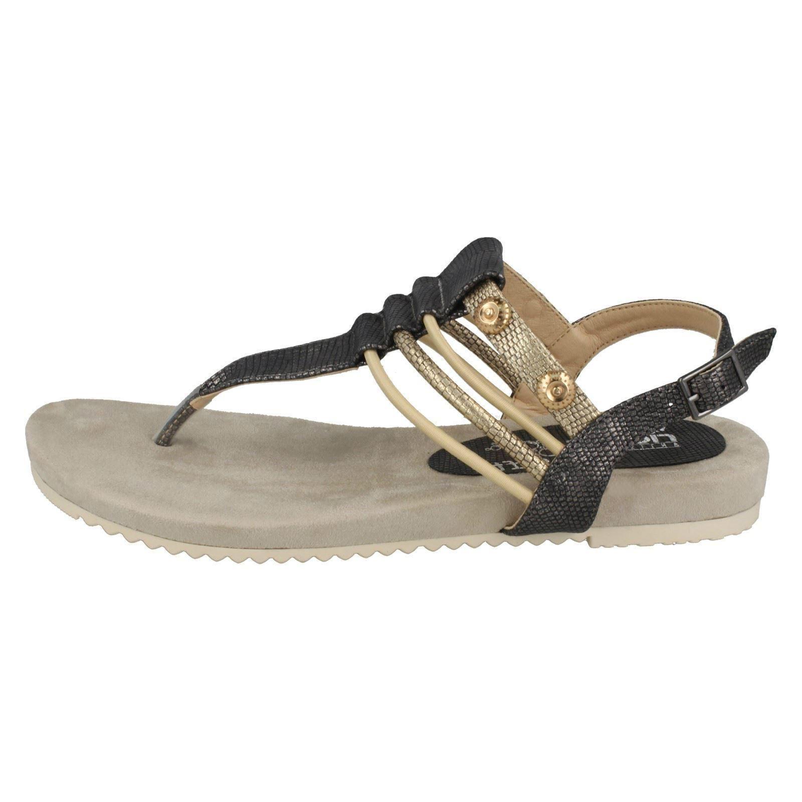 Mesdames Rieker Multi Strap orteil Post Sandal «V5373»