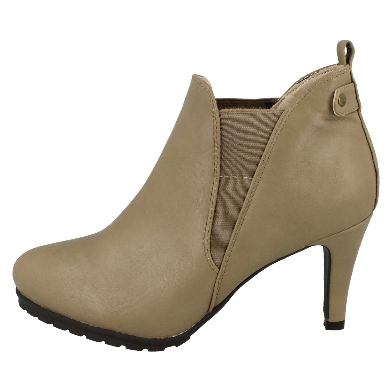 Ladies Ankle Boots Spot On