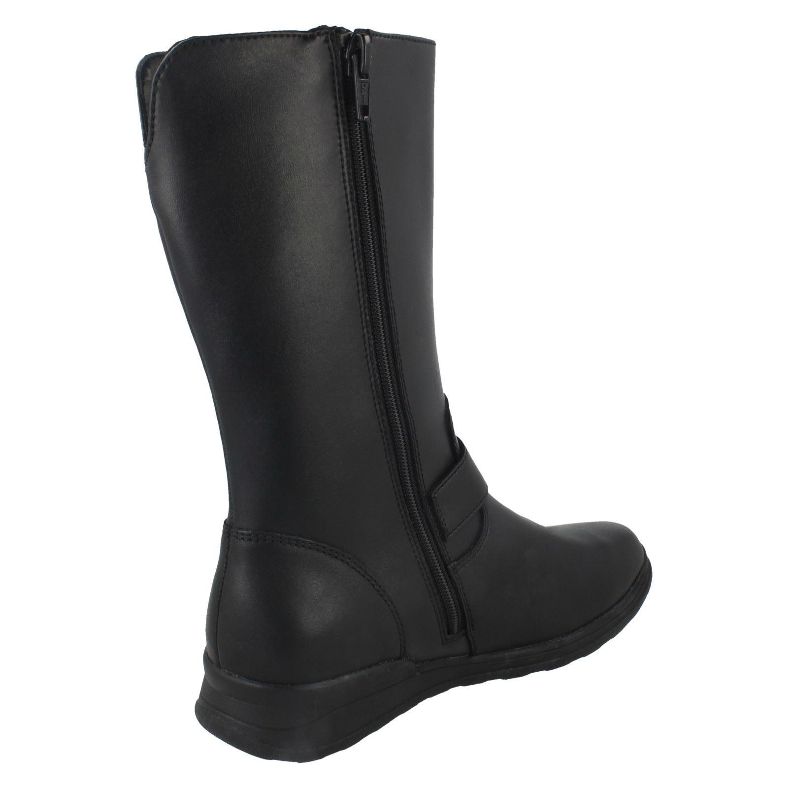 Girls Clarks Mid Calf Boots *Mariel Star*